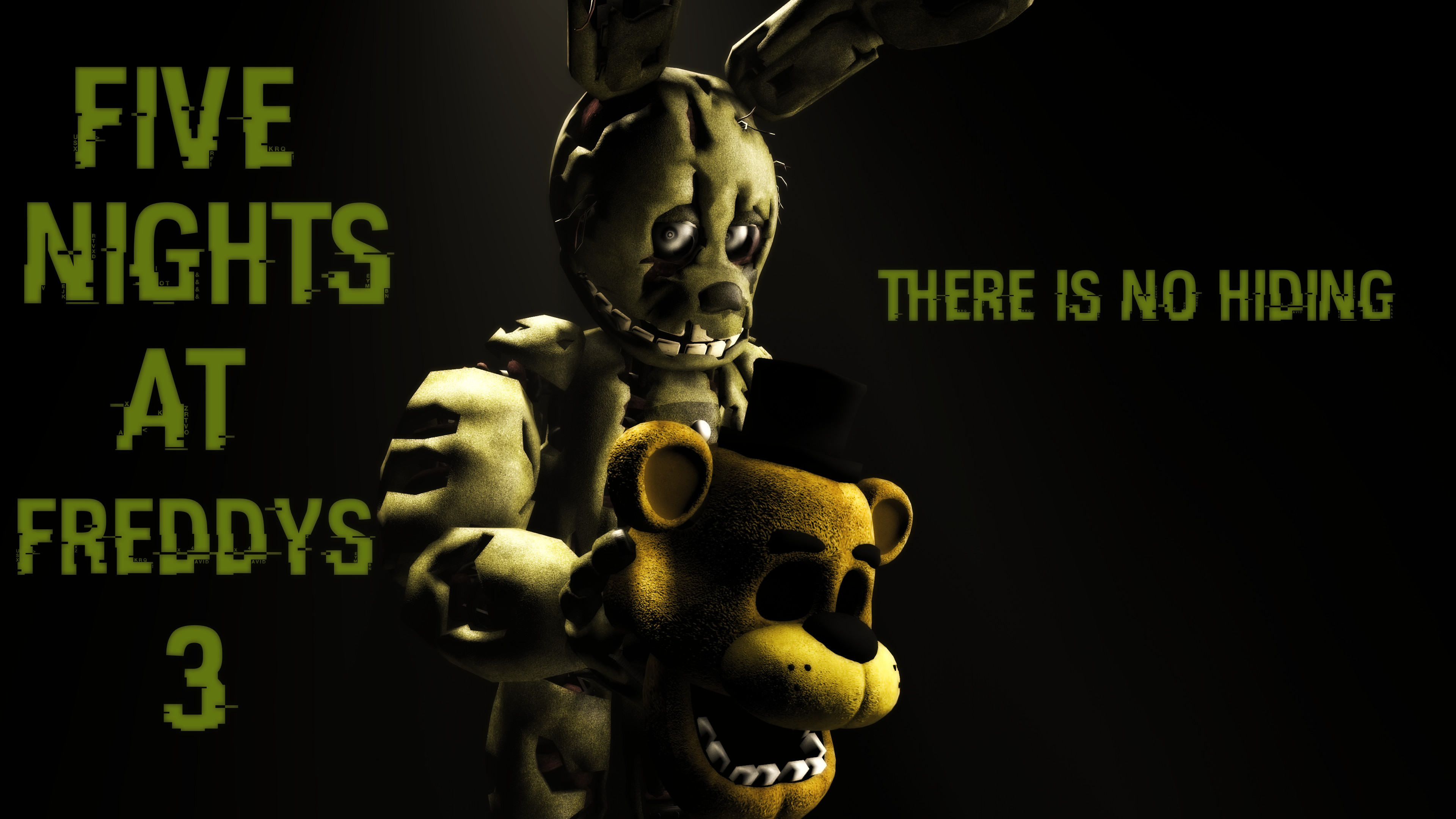 3840x2160 ... Five Nights At Freddy's 3 Wallpaper by boatfullogoats