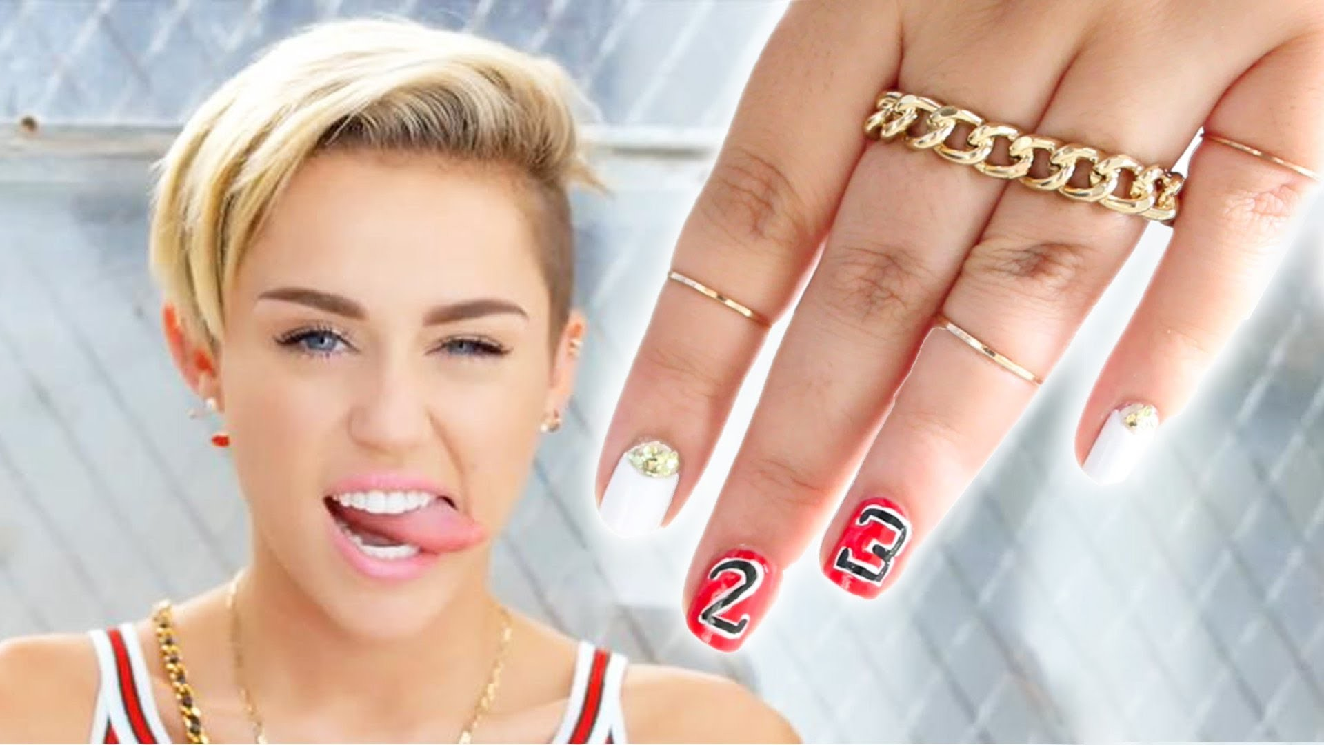 1920x1080 Miley Cyrus - 23 Music Video | Inspired Nails
