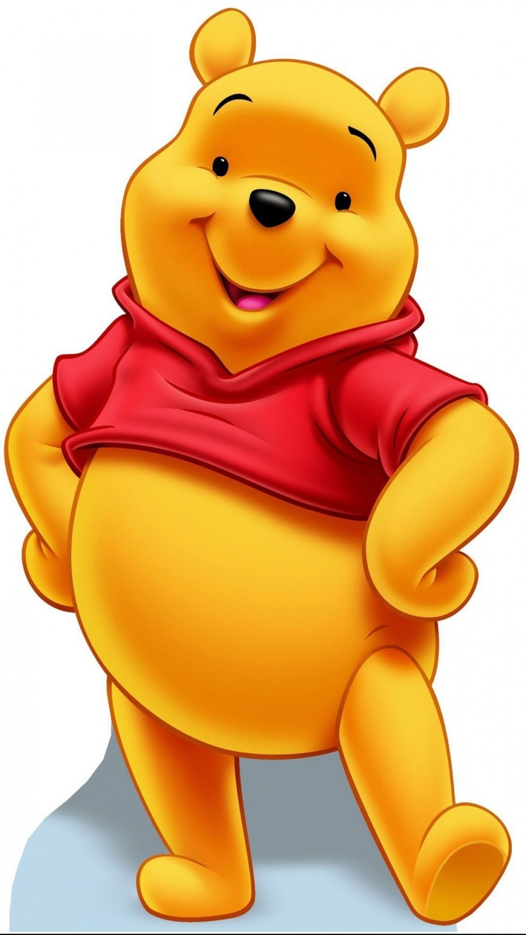 It is a picture of Impertinent Pooh Bear Images