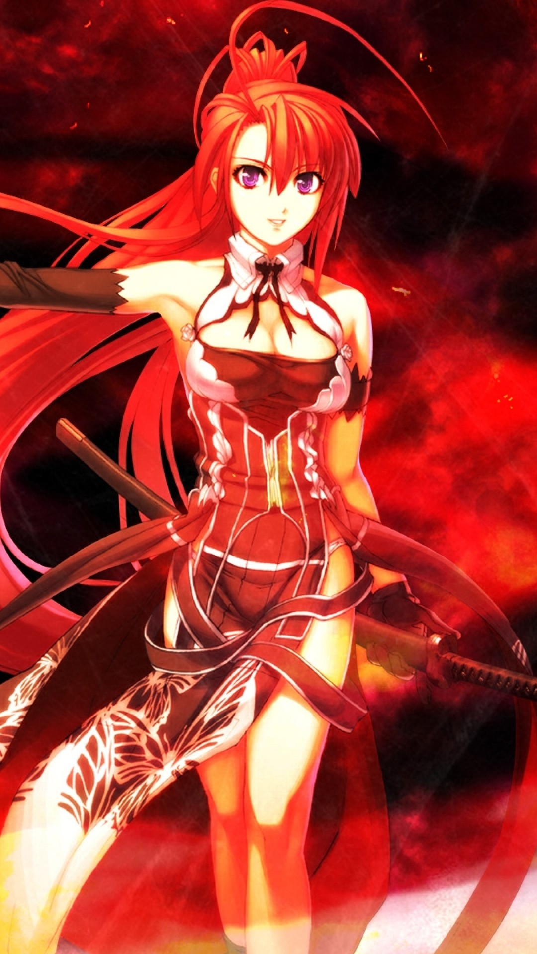 Anime wallpaper 1080x1920 84 images - Girl with sword wallpaper ...