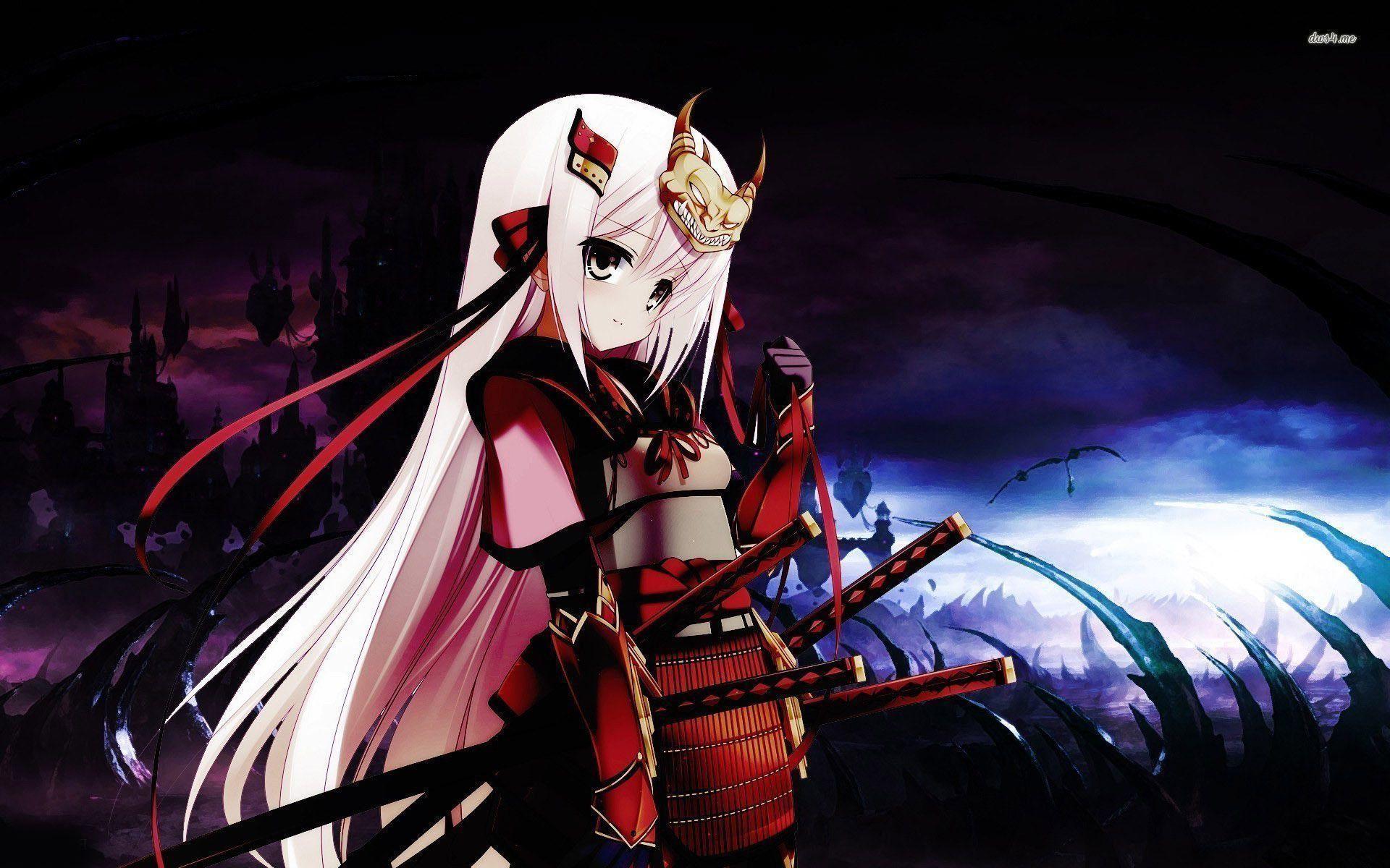 X Samurai Girl Wallpaper Anime Wallpapers