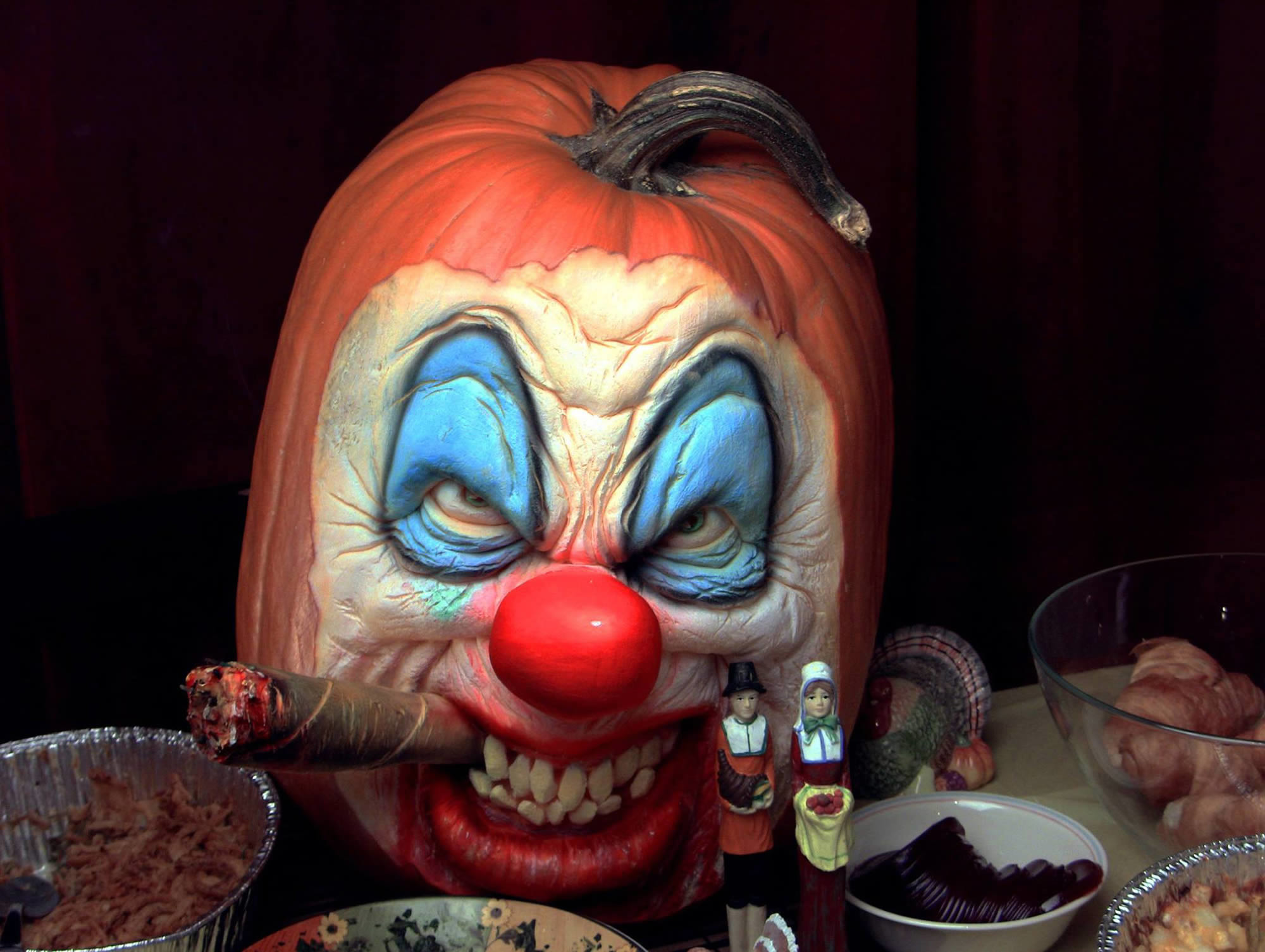 2000x1505 Funny Scary Clown Wallpapers 1024x768PX ~ 3d Evil Jester Wallpaper .