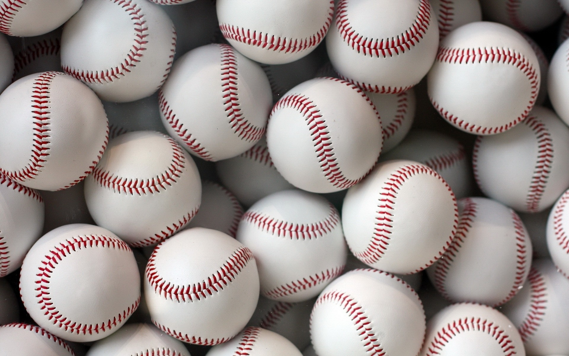 1920x1200 Baseball balls Wallpaper