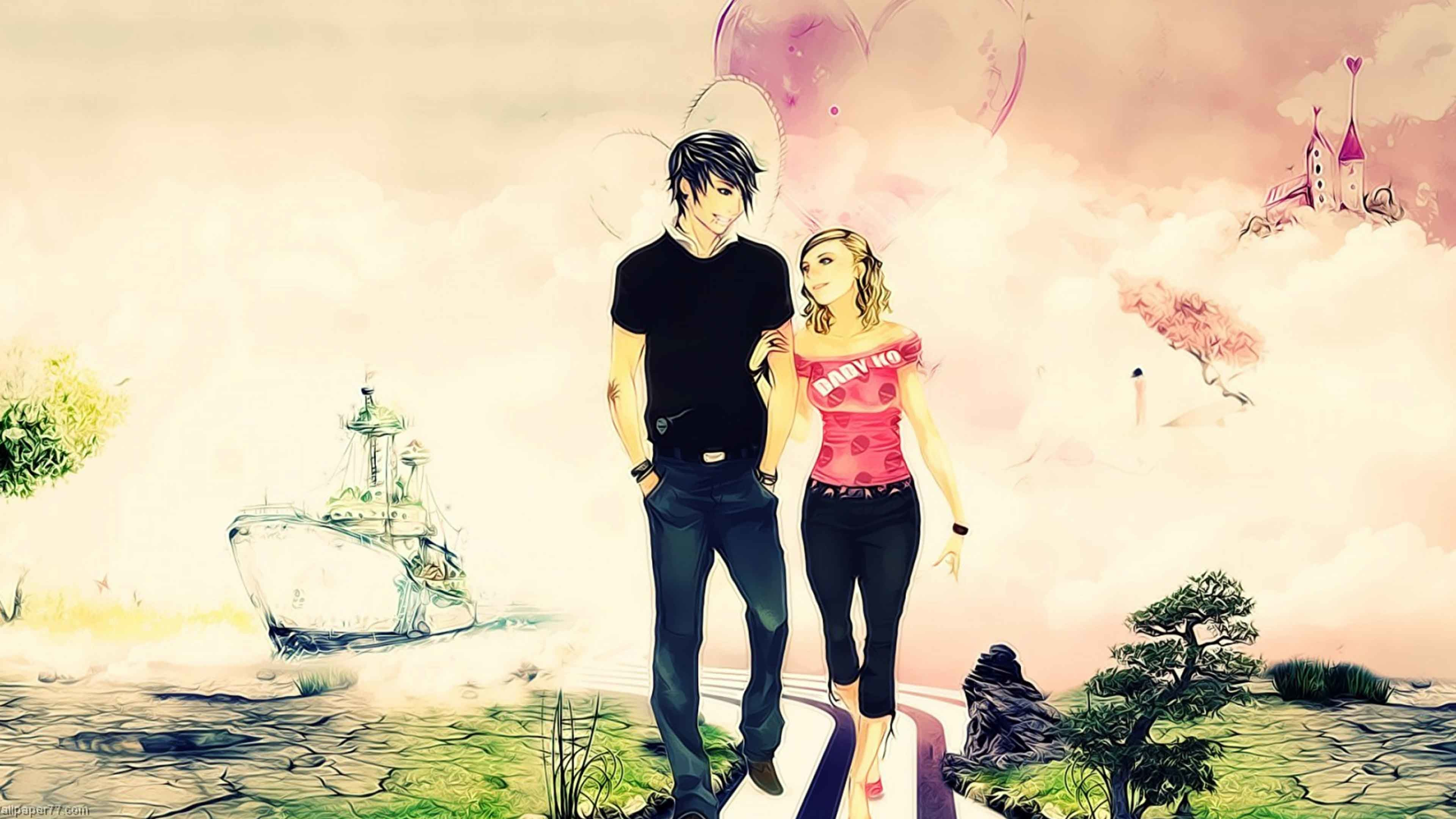 Love Couple Wallpapers 64 Images