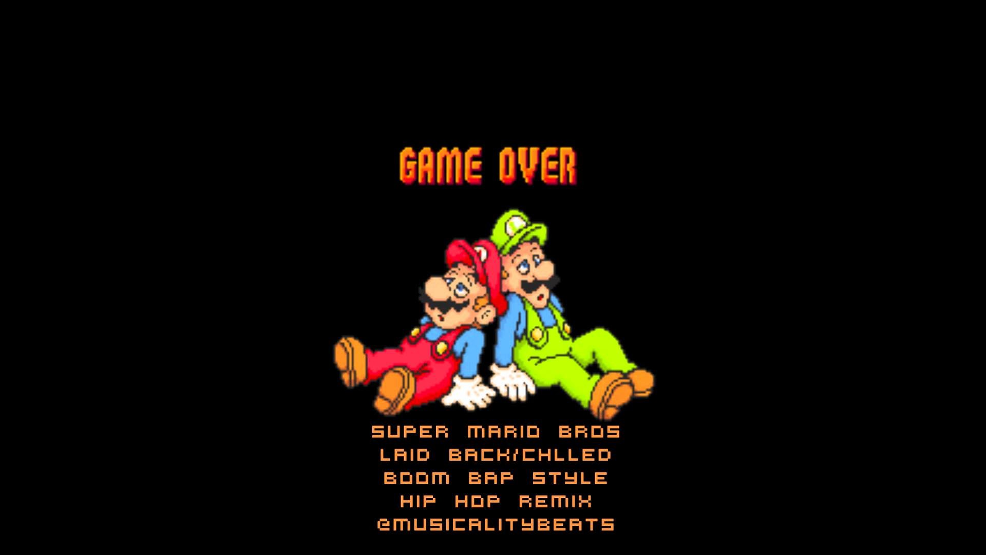 1920x1080 Super Mario World - Game Over Theme - (Chilled Rap/Hip Hop Remix) -  @Musicalitybeats - YouTube