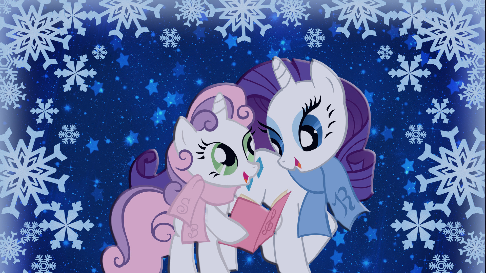 1920x1080 my little pony friendship is magic | Sisters Caroling - My Little Pony  Friendship is Magic