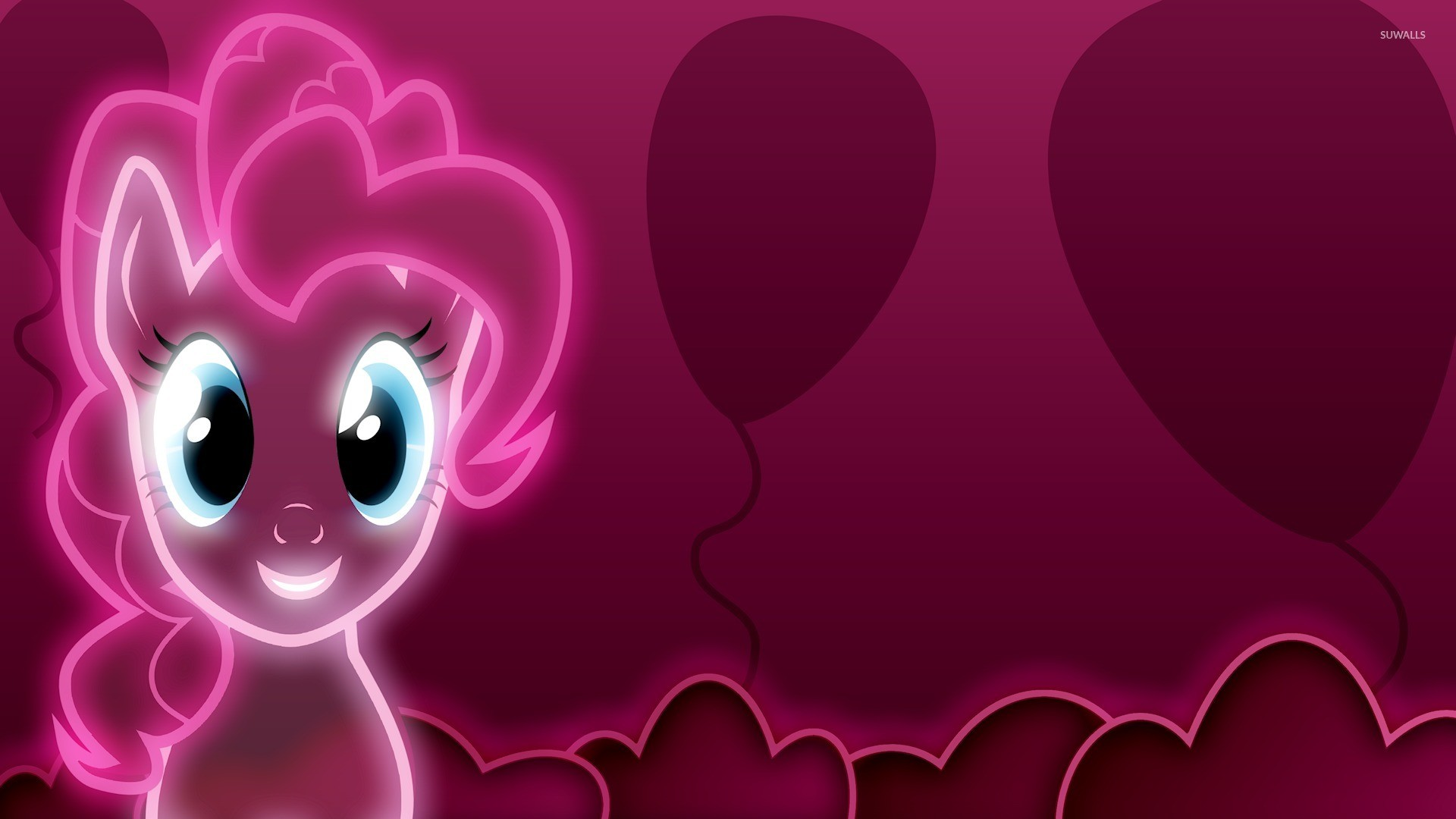 1920x1080 Neon pink Pinkie Pie - My Little Pony wallpaper  jpg