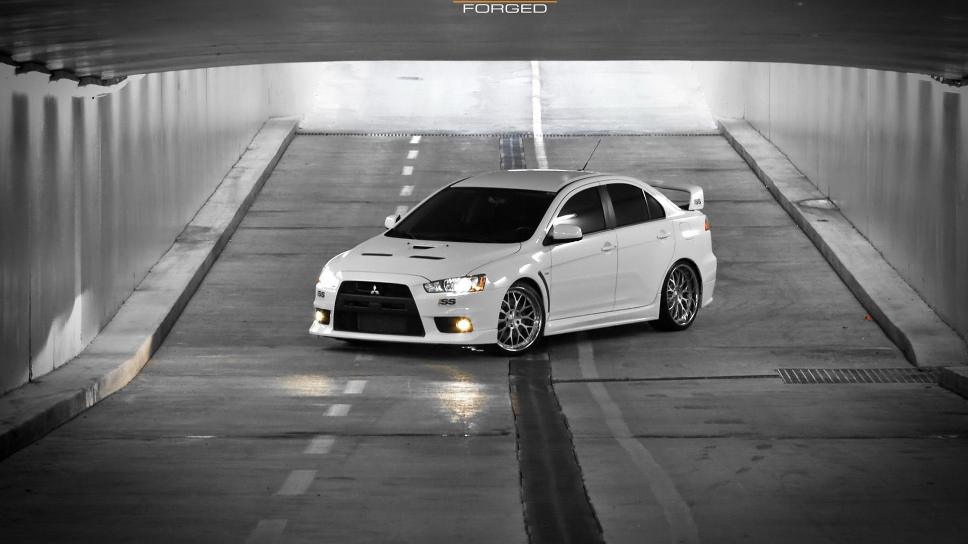 1920x1080 Mitsubishi Lancer Evo X Wallpaper