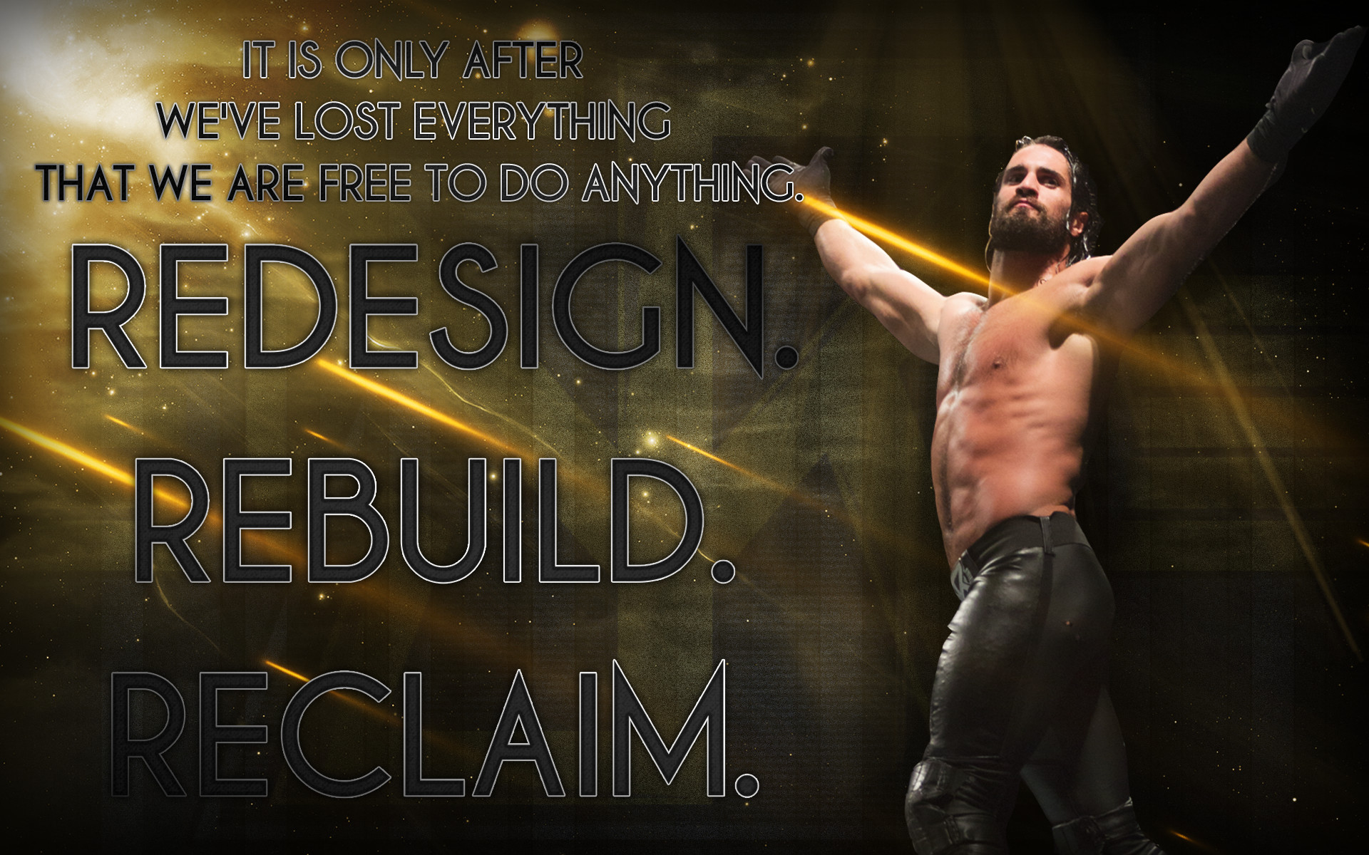 seth rollins logo wallpapers (73+ images)