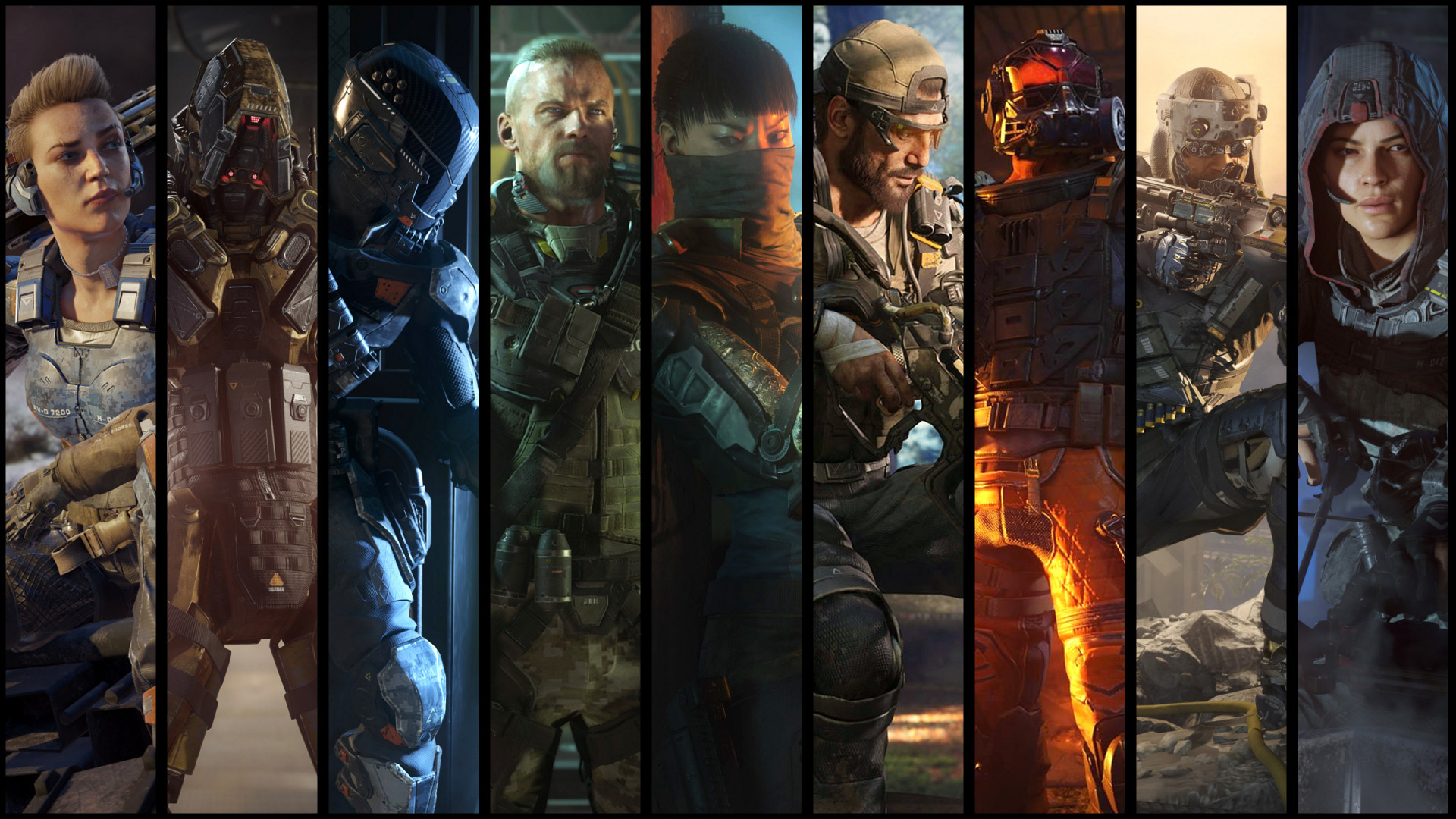 1920x1080 p Black Ops III Specialists Wallpapers FIXED blackops 1920×1080