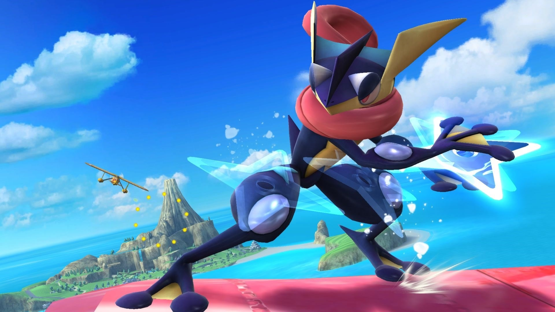 1920x1080 ... Greninja HD Background ...