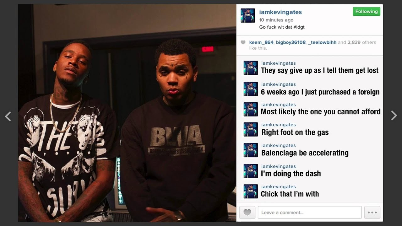 Res: 1920x1080, August alsina ft kevin gates idgt