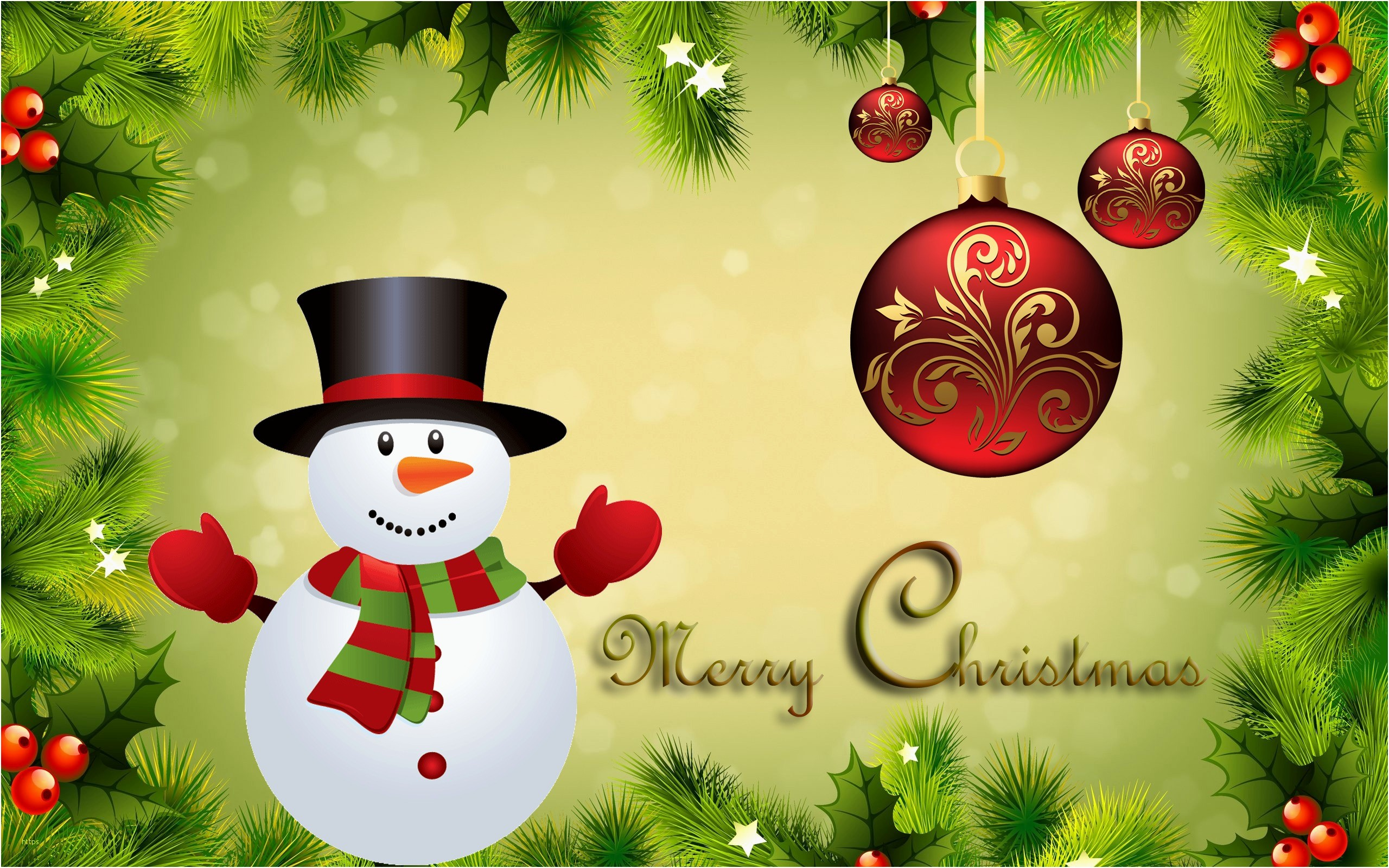 2560x1600 Free Christmas Desktop Wallpaper Elegant Cute Christmas Desktop Backgrounds