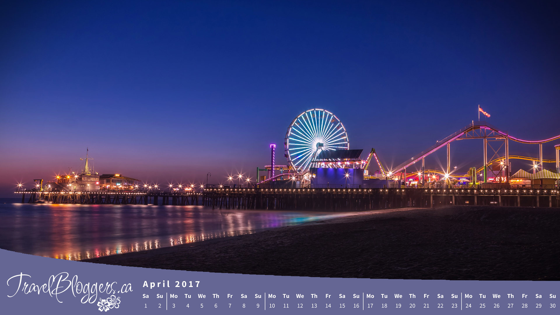 Santa Monica Pier Wallpaper 57 Images