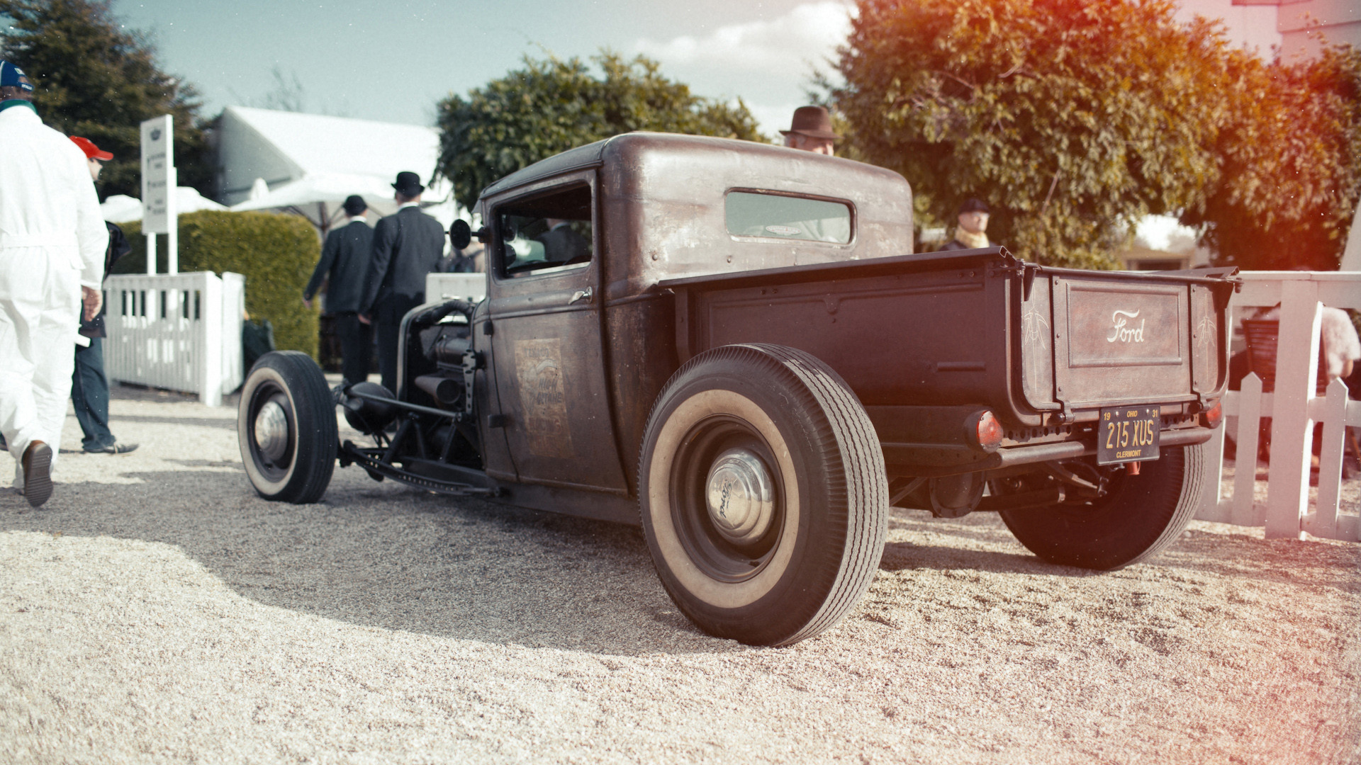 1920x1080 Classic Ford Hot Rod