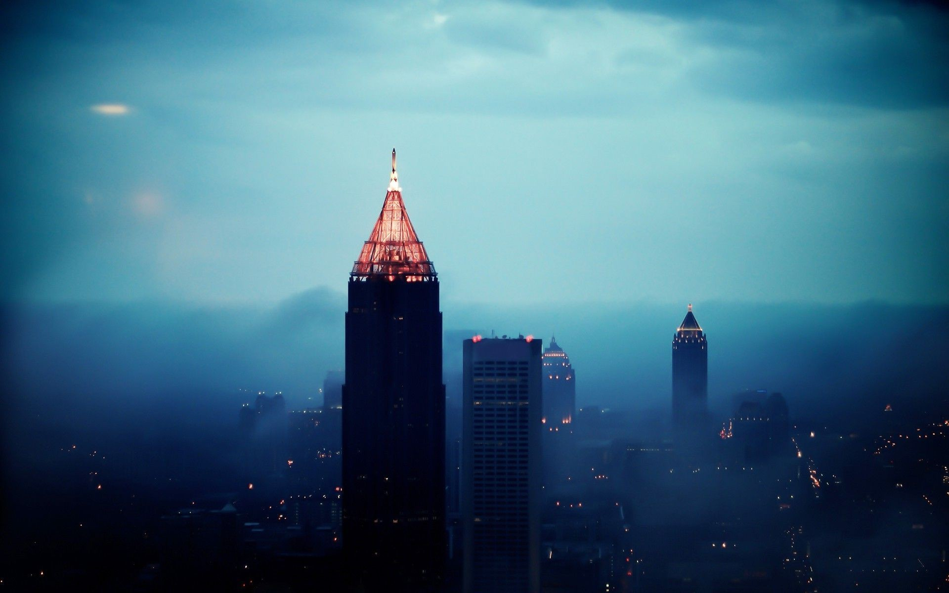 1920x1200 Inspiring Atlanta Skyline Wallpaper PX Wallpaper