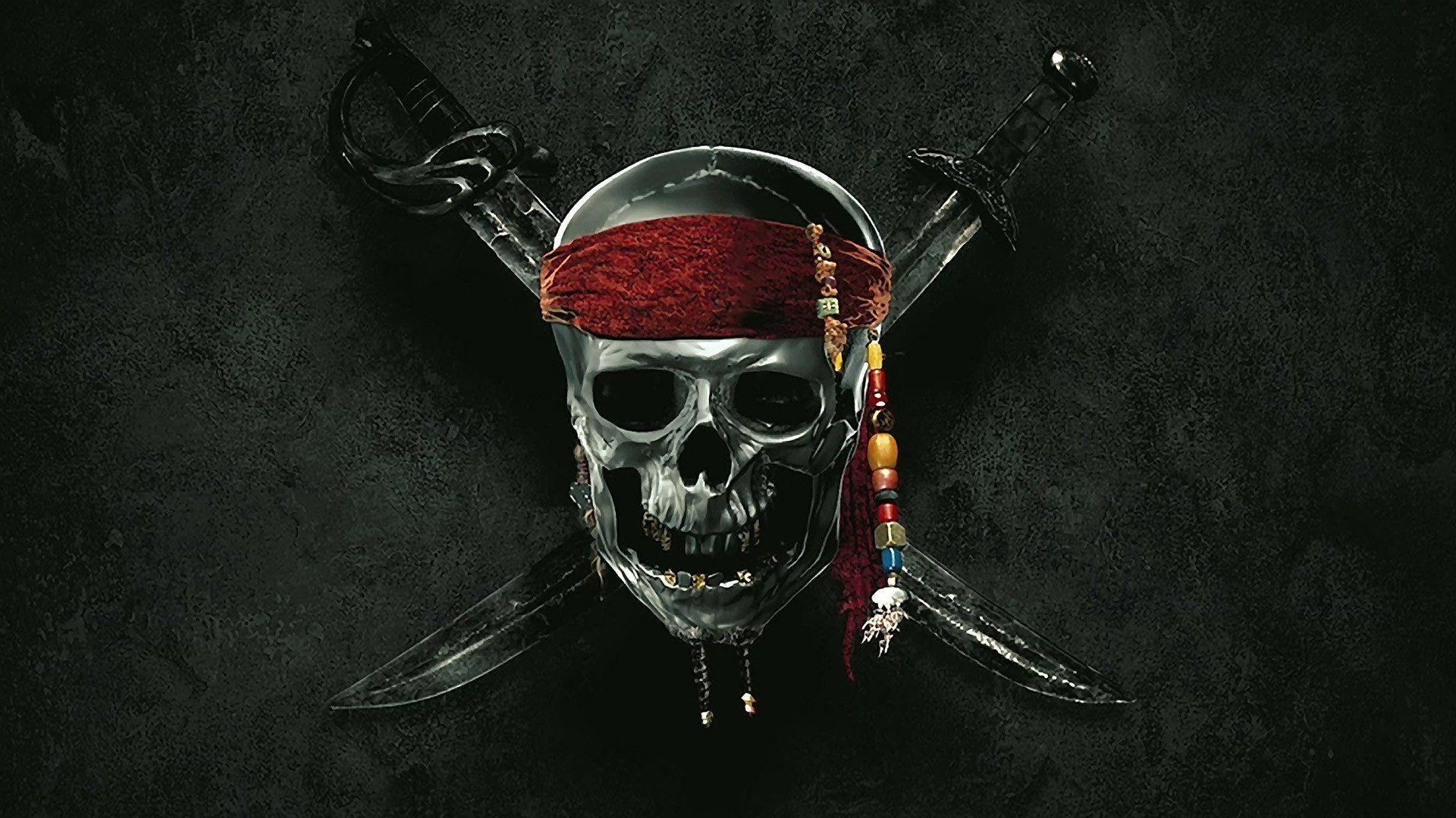 1920x1080 Pirates Of The Caribbean Skull Wallpaper