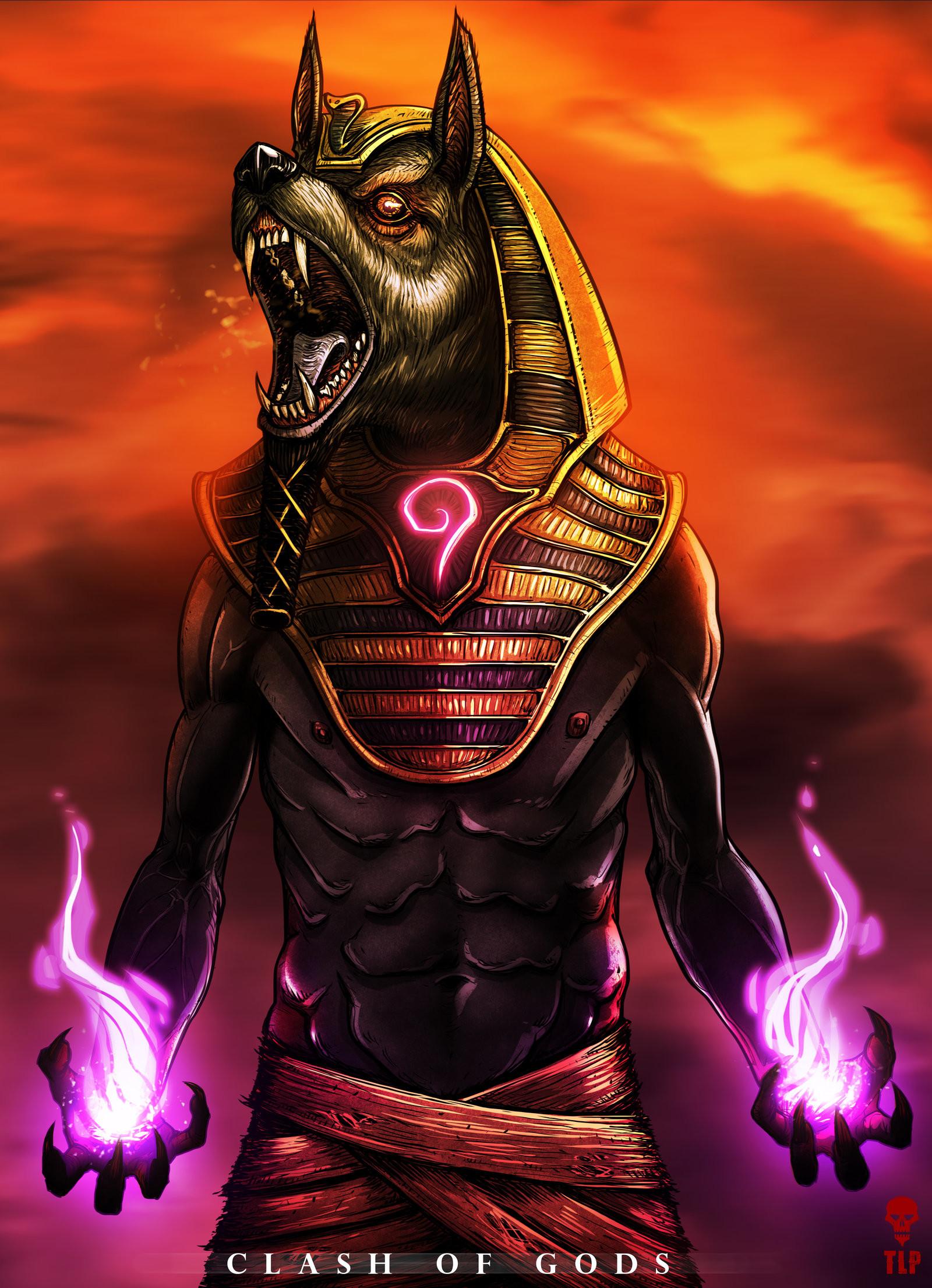 Anubis Egyptian God Wallpaper (61+ images)