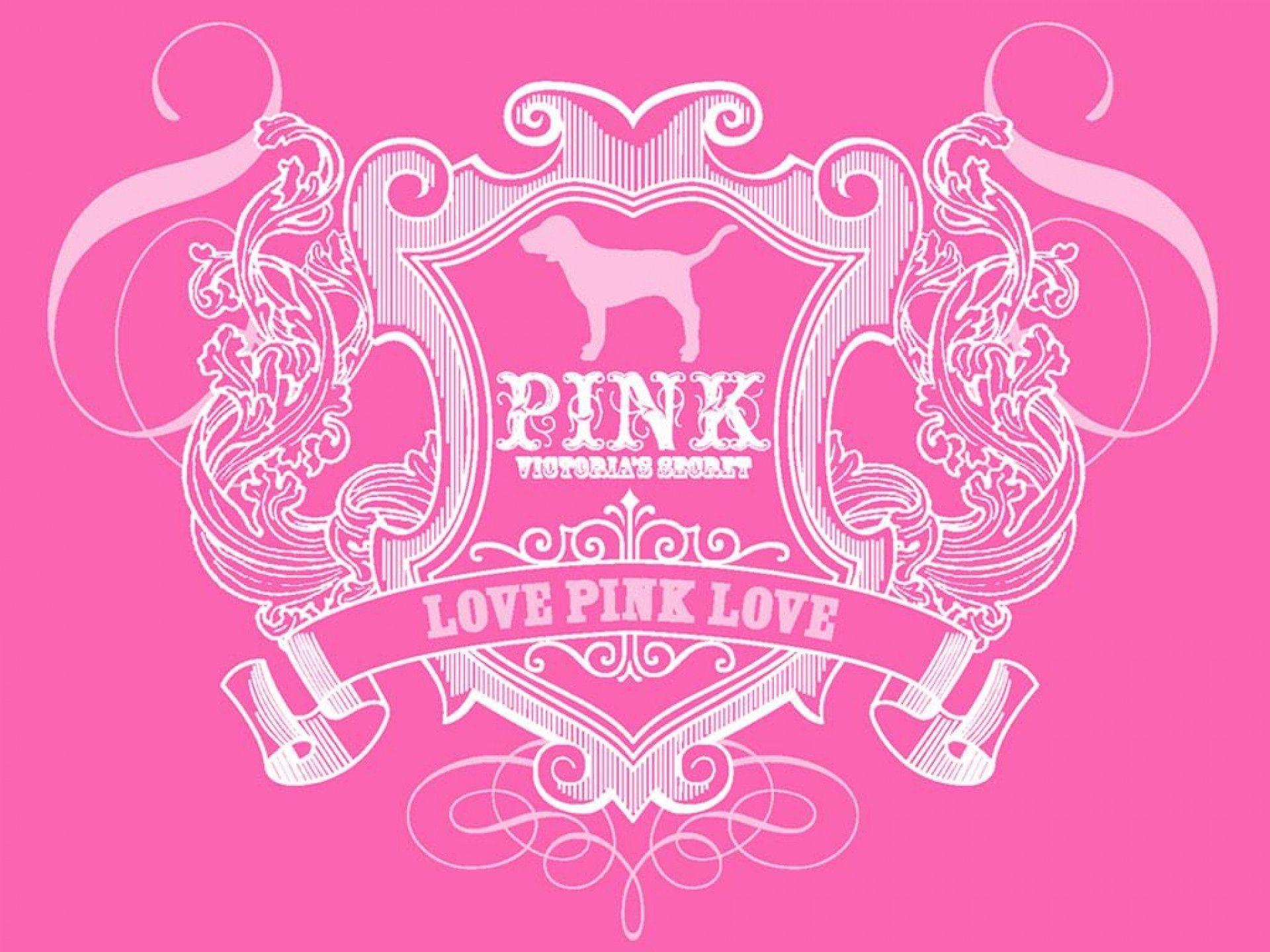 1920x1440 Love Pink Vs Wallpaper High Resolution For Desktop Uncalke