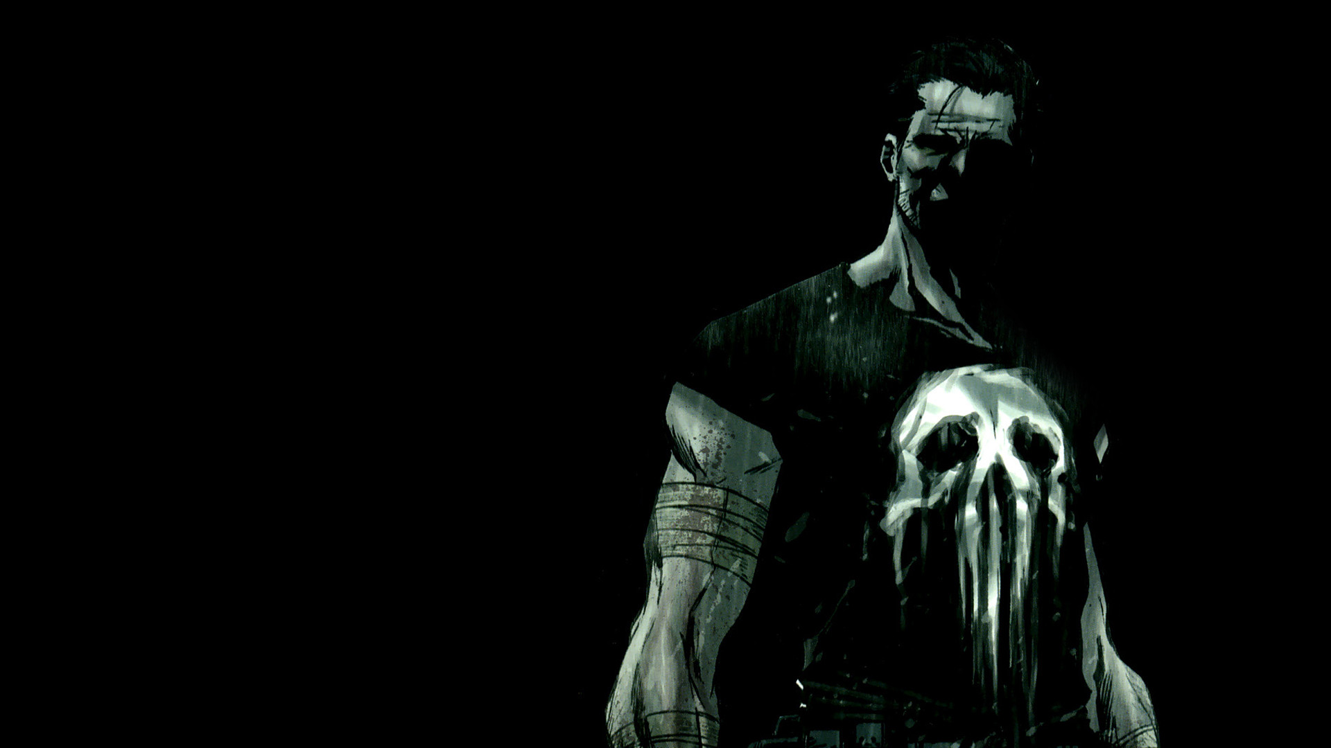 1920x1080 Comics - Punisher Frank Castle Wallpaper