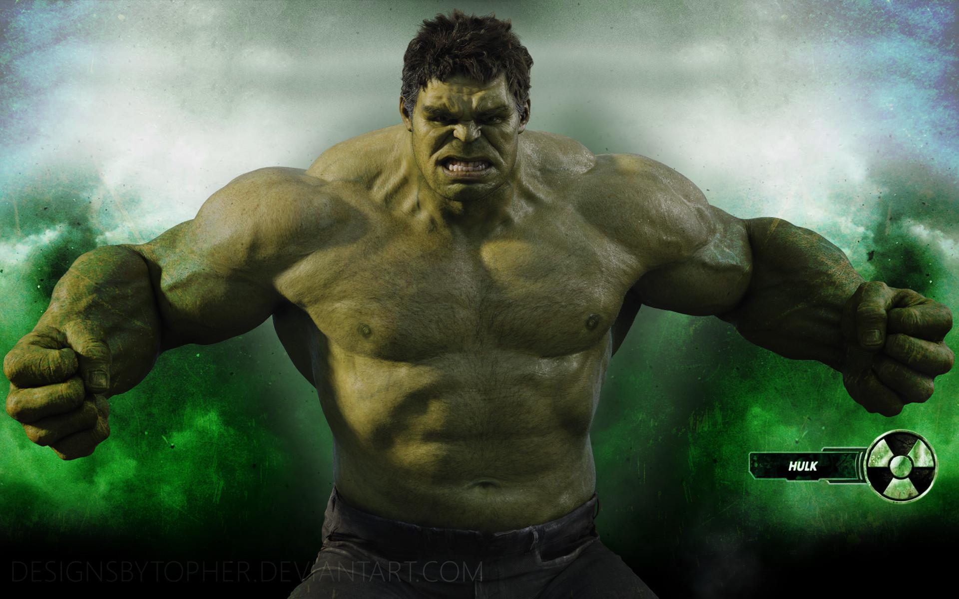 1920x1080 Hulk Wallpaper close up