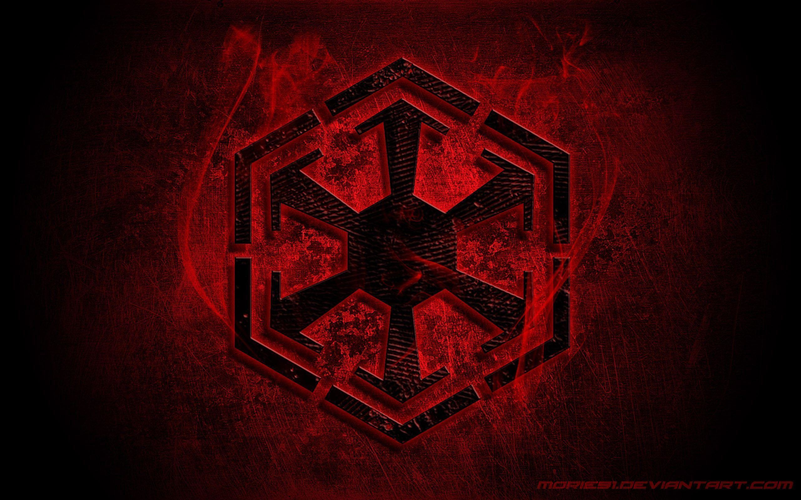 2560x1600 Star Wars: The Old Republic Empire Logo wallpaper