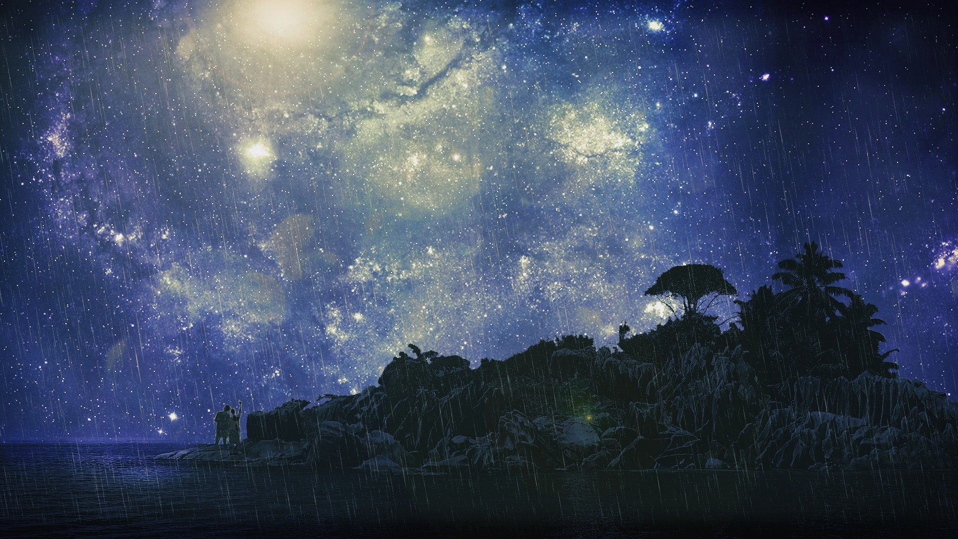 1920x1080 Starry Night Sky Wallpapers - Wallpaper Cave