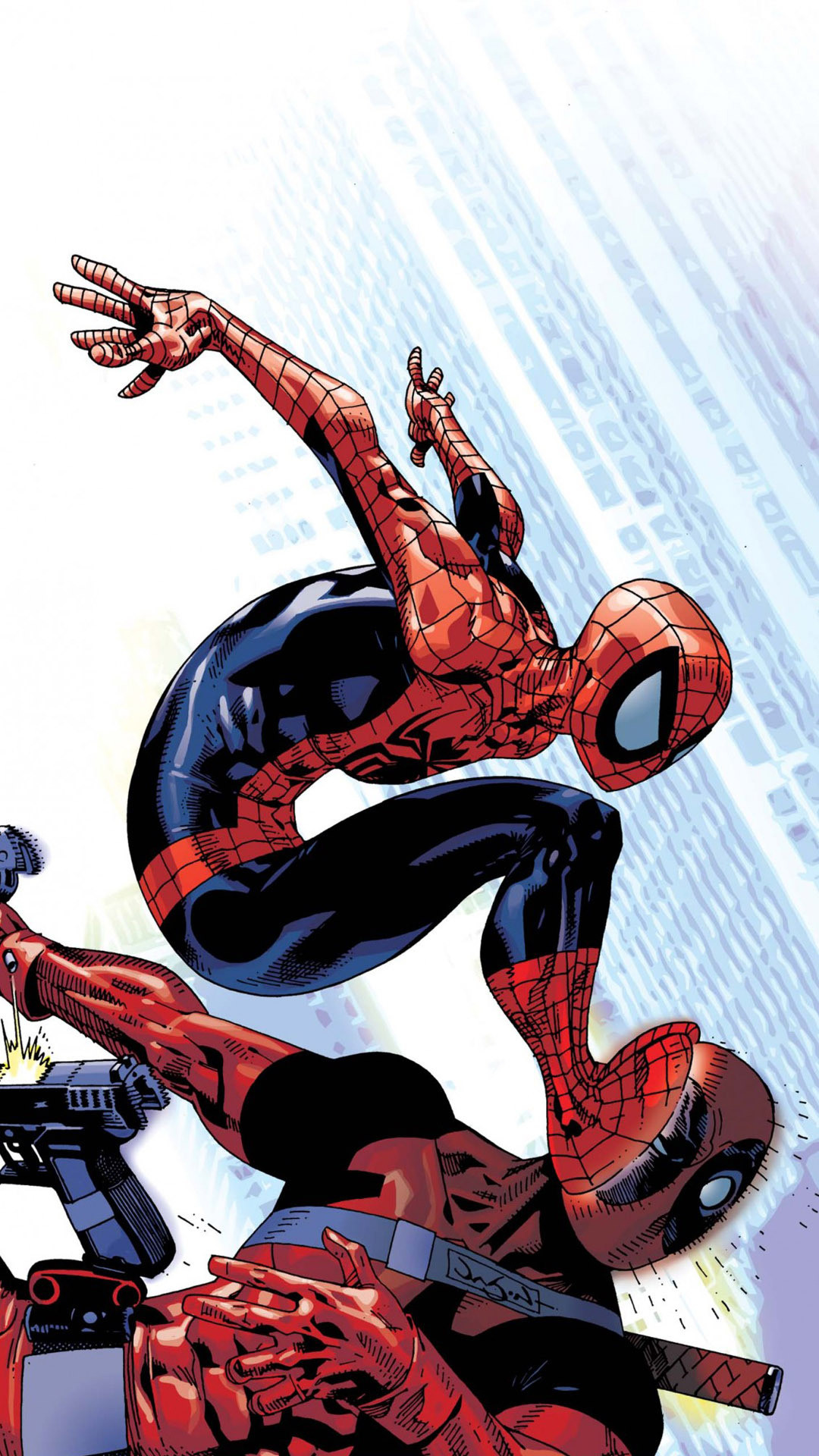 2560x1440 Spider Man Wallpapers Deadpool And Spiderman Wallpapers Gallery Image Mrfab