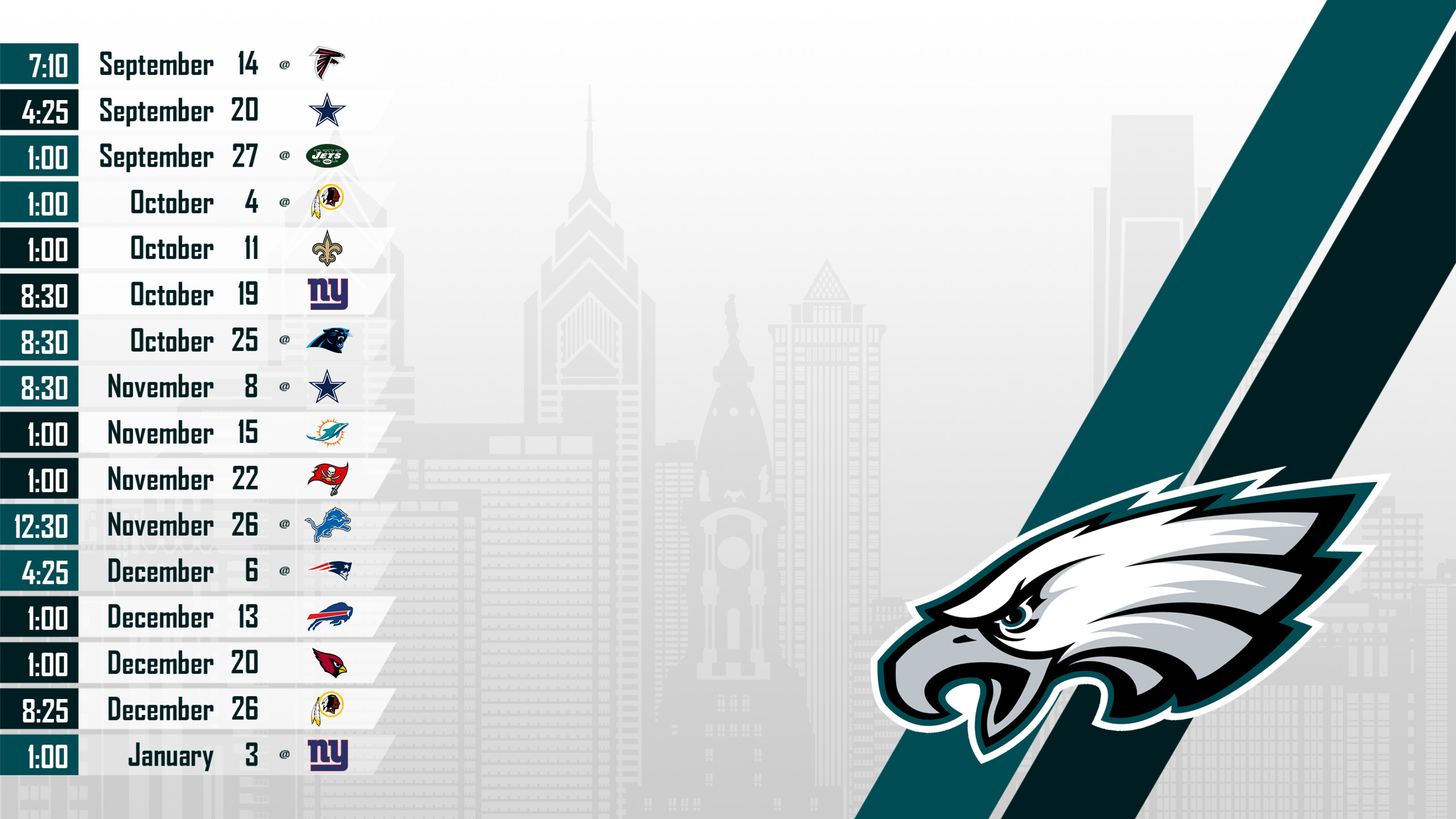 Philadelphia eagles wallpaper 2018