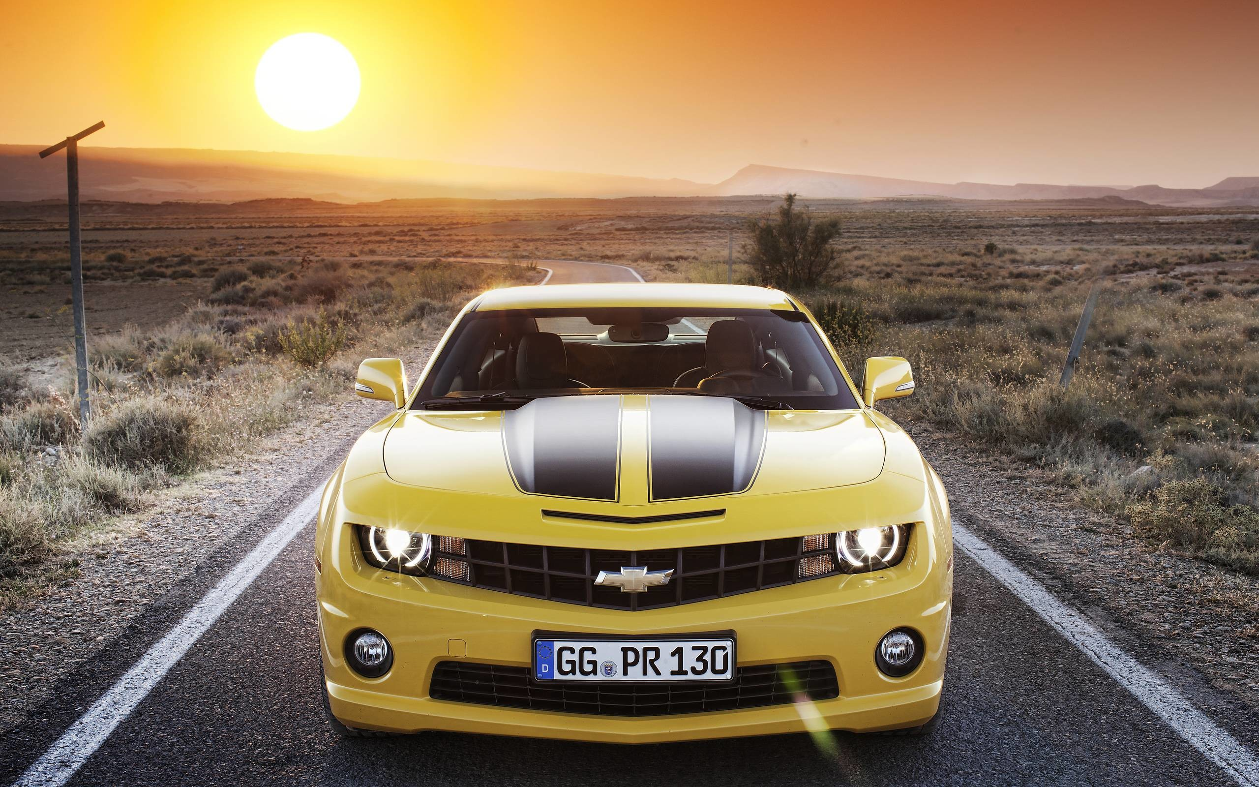 2560x1600 Chevrolet Camaro Wallpaper Yellow 2652 Full HD Wallpaper Desktop .