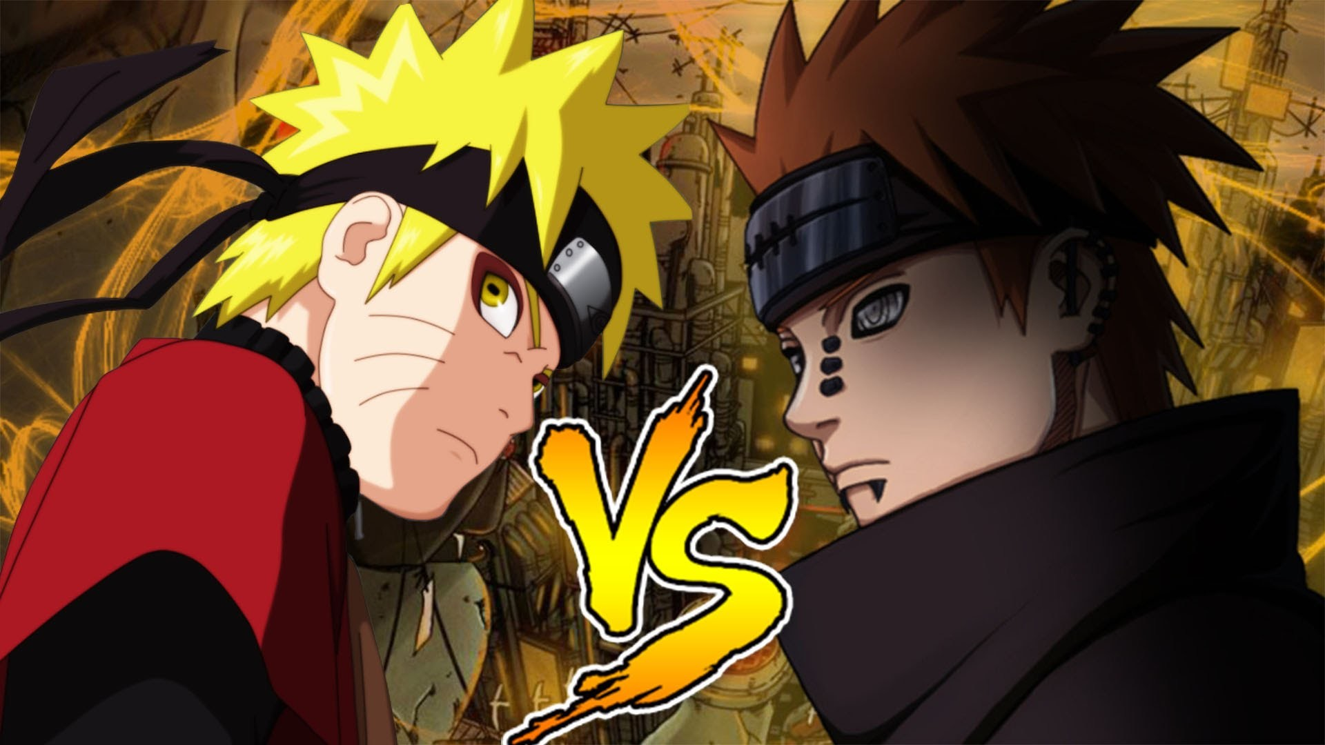 1920x1080 Naruto Shippuden Ultimate Ninja Storm 3 - Sage Naruto Vs Pain (Rasen  Shuriken vs Rinnegan Six Paths) - YouTube