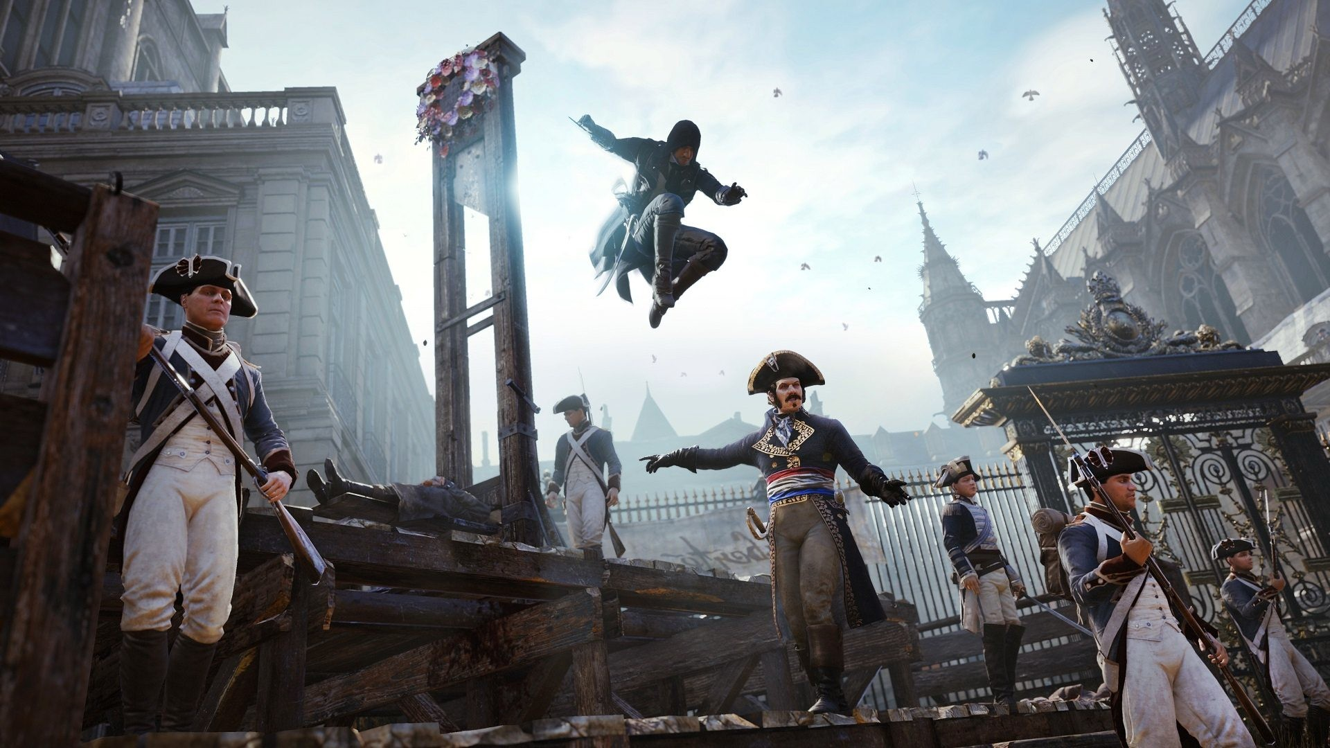 1920x1080 Awesome Assassins Creed Unity Wallpaper 40773