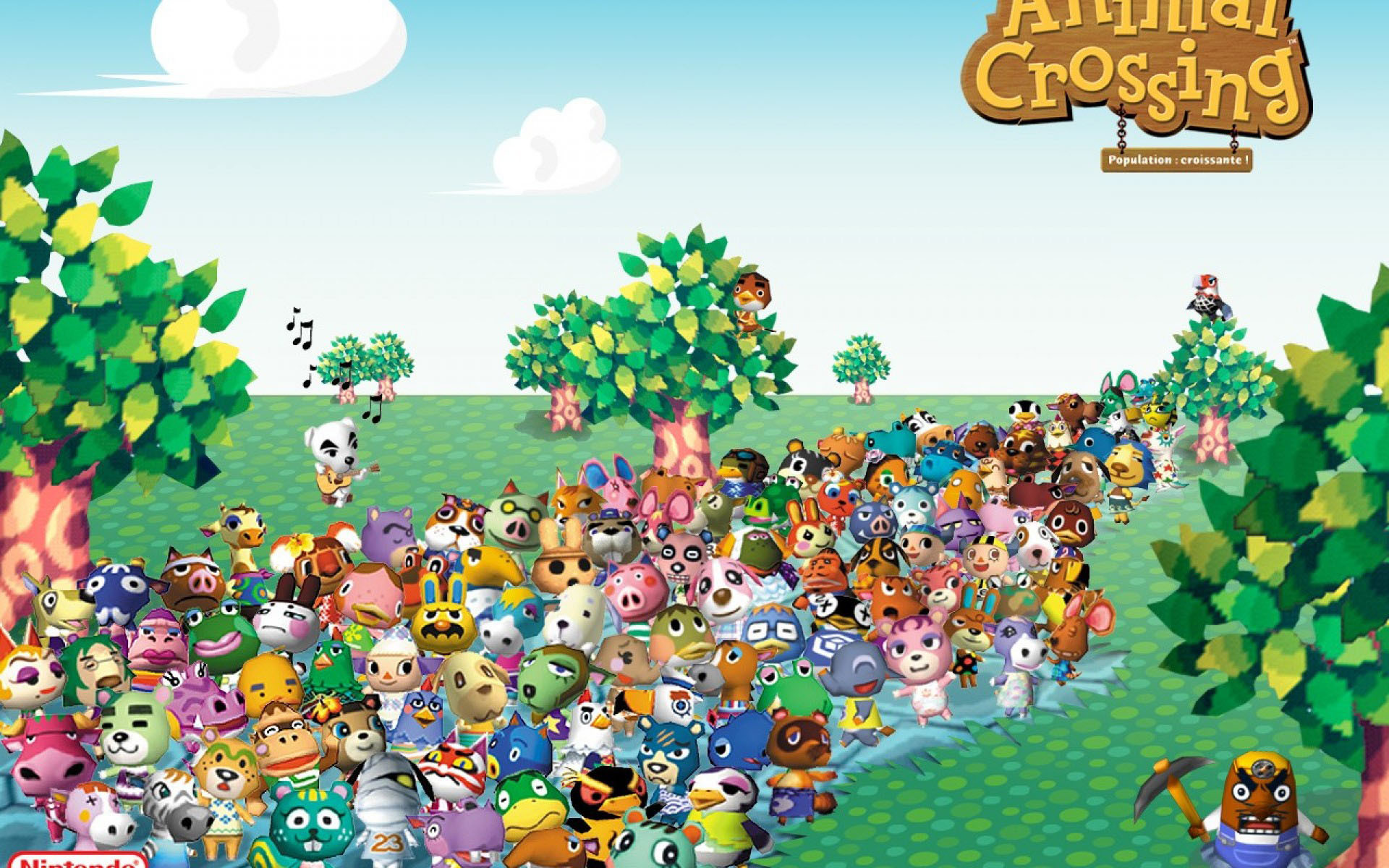 Animal Crossing HD Wallpaper (82+ Images
