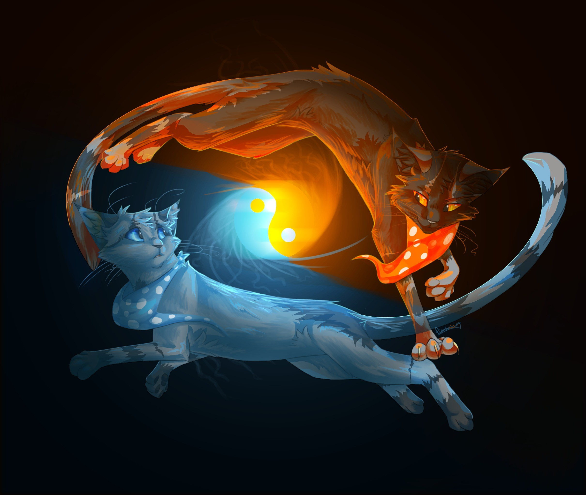 Warriors Fire And Ice Episode 3: Warrior Cat Wallpapers Backgrounds (56+ Images