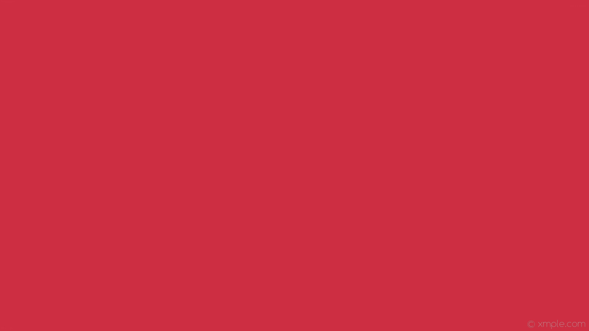 1920x1080 wallpaper red single plain solid color one colour #cd2e42