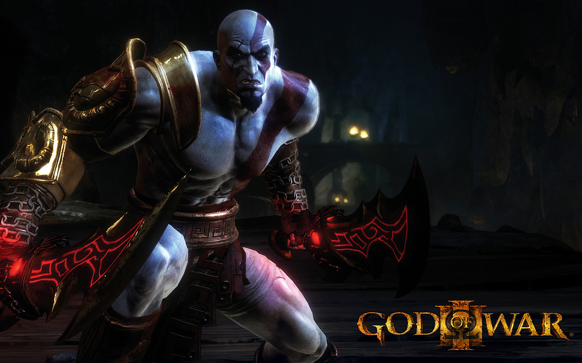 1920x1200 Kratos with a sword God of War wallpaper Game wallpapers