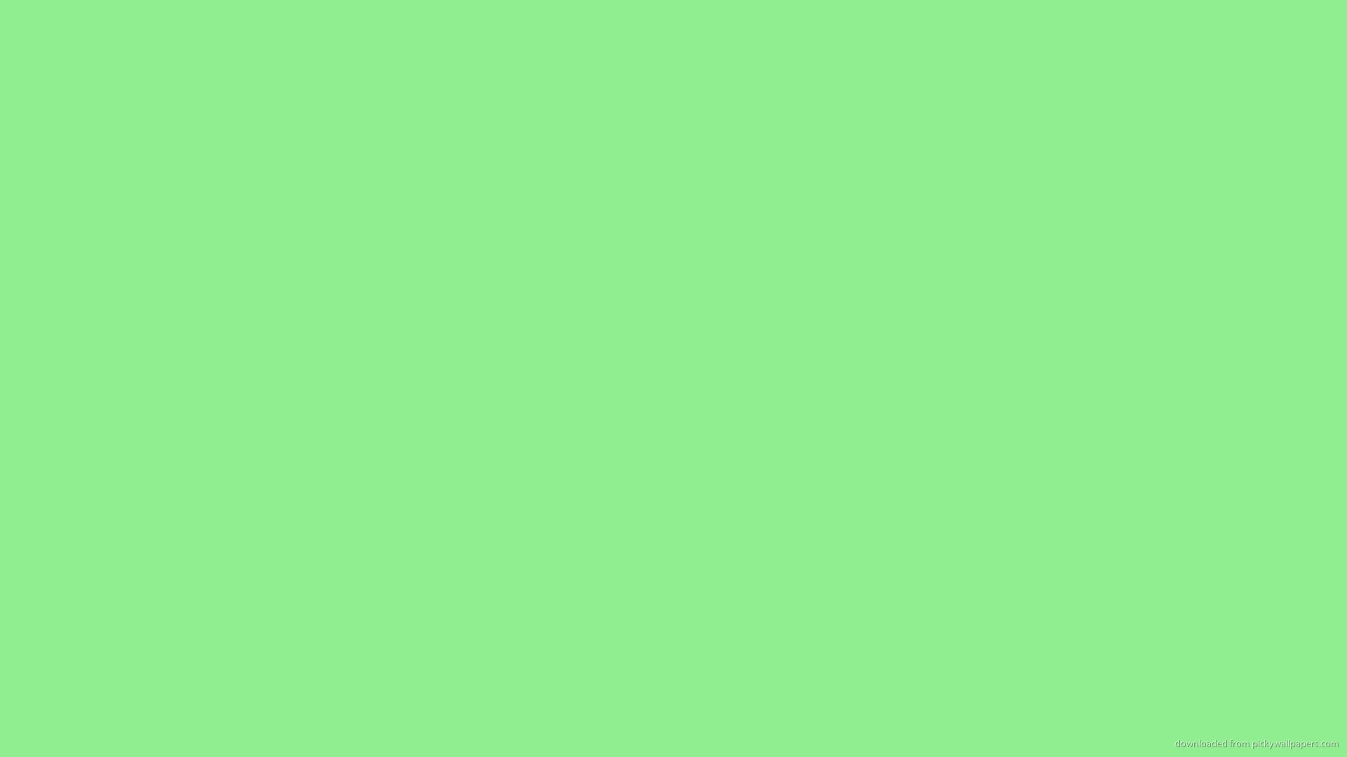 1920x1080 Solid Light Green Color Wallpaper Picture For iPhone, Blackberry, iPad .
