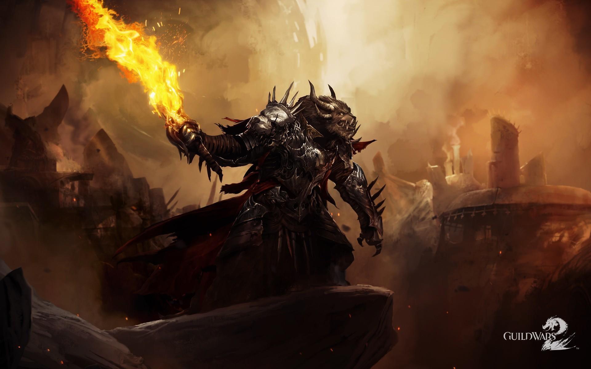 Guild Wars 2 Video Games Charr Wallpapers Hd Desktop: Dark Souls Bonfire Wallpaper (78+ Images