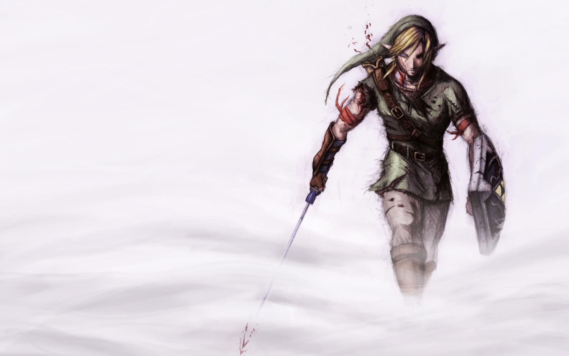 1920x1200 wallpaper de link the legend of zelda Taringa