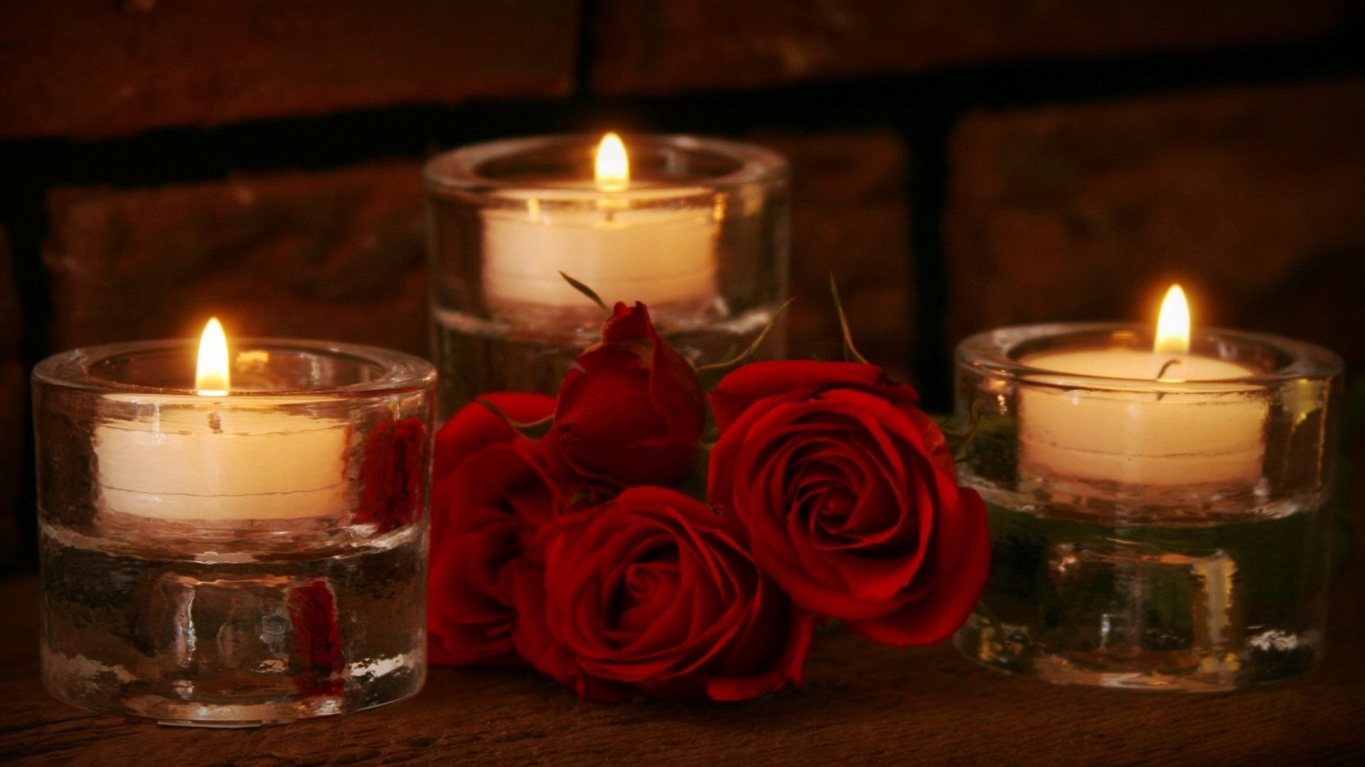 1920x1080 #220000 Color - Candle Beauty Life Valentines Red Pretty Nature Love Lovely  Lights Romance Light