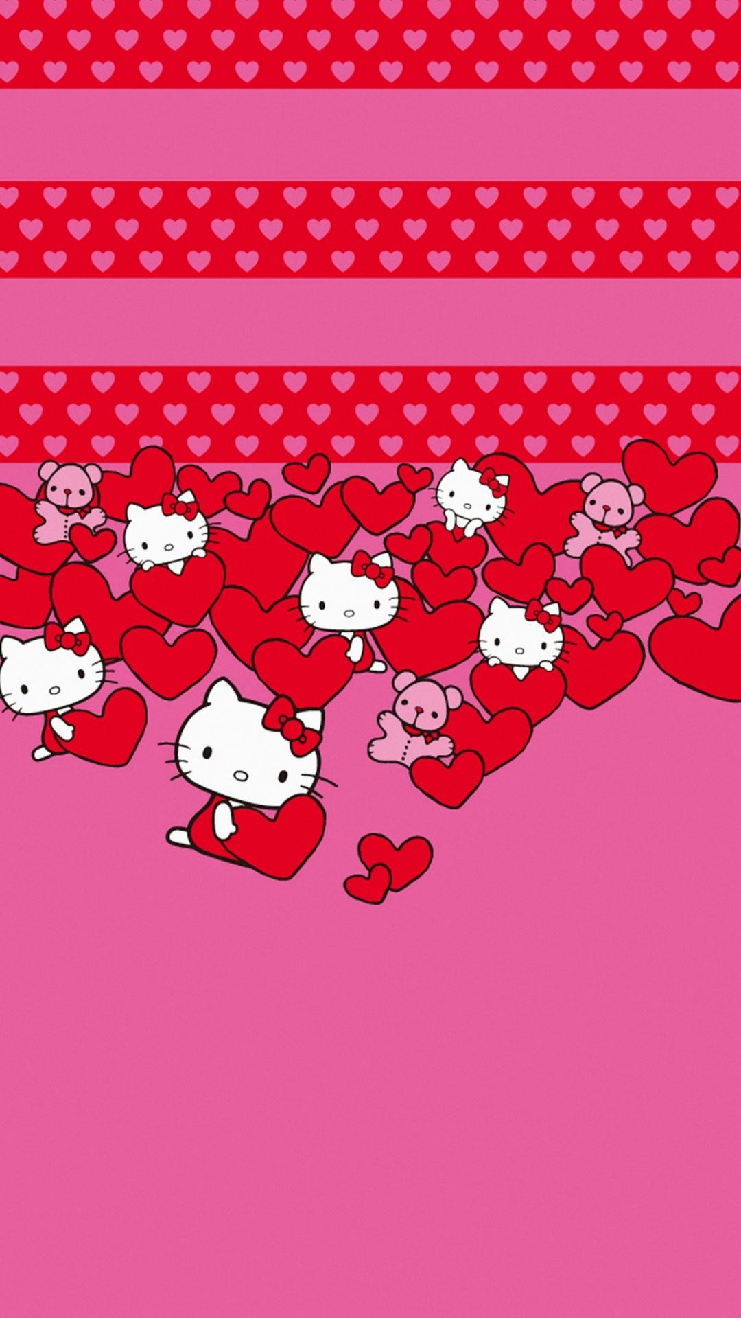 Wallpaper Hello Kitty Love (69+ images)