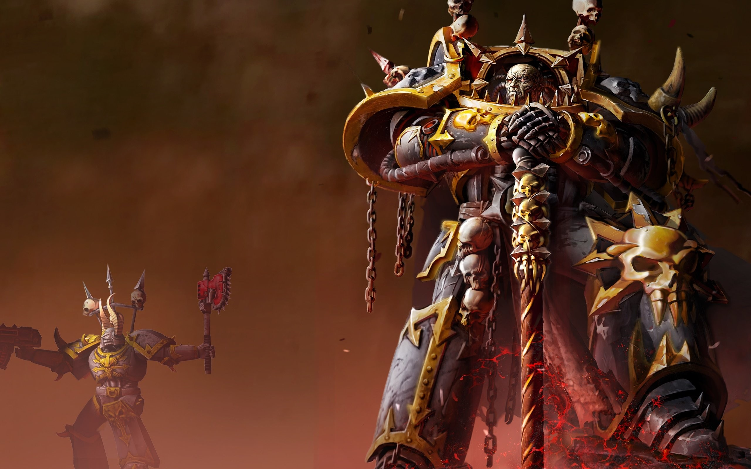 2560x1600 Wallpaper zu Warhammer 40.000: Dawn of War 2 - Retribution herunterladen