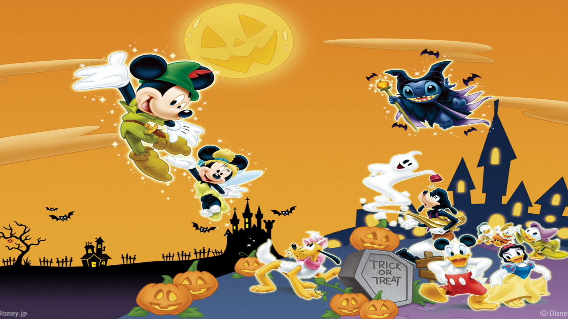 Disney Halloween Backgrounds 71 images