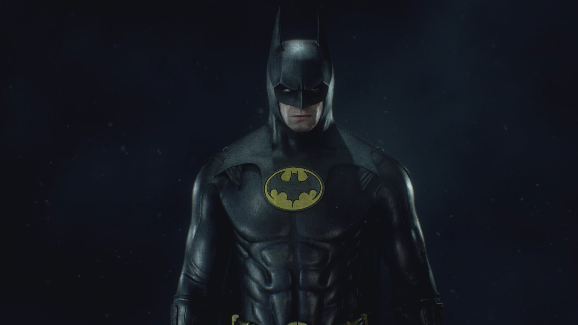 1920x1080 Batman: Arkham Knight - 1989 Batman Skin (Michael Keaton) Skin Showcase +  Gameplay!