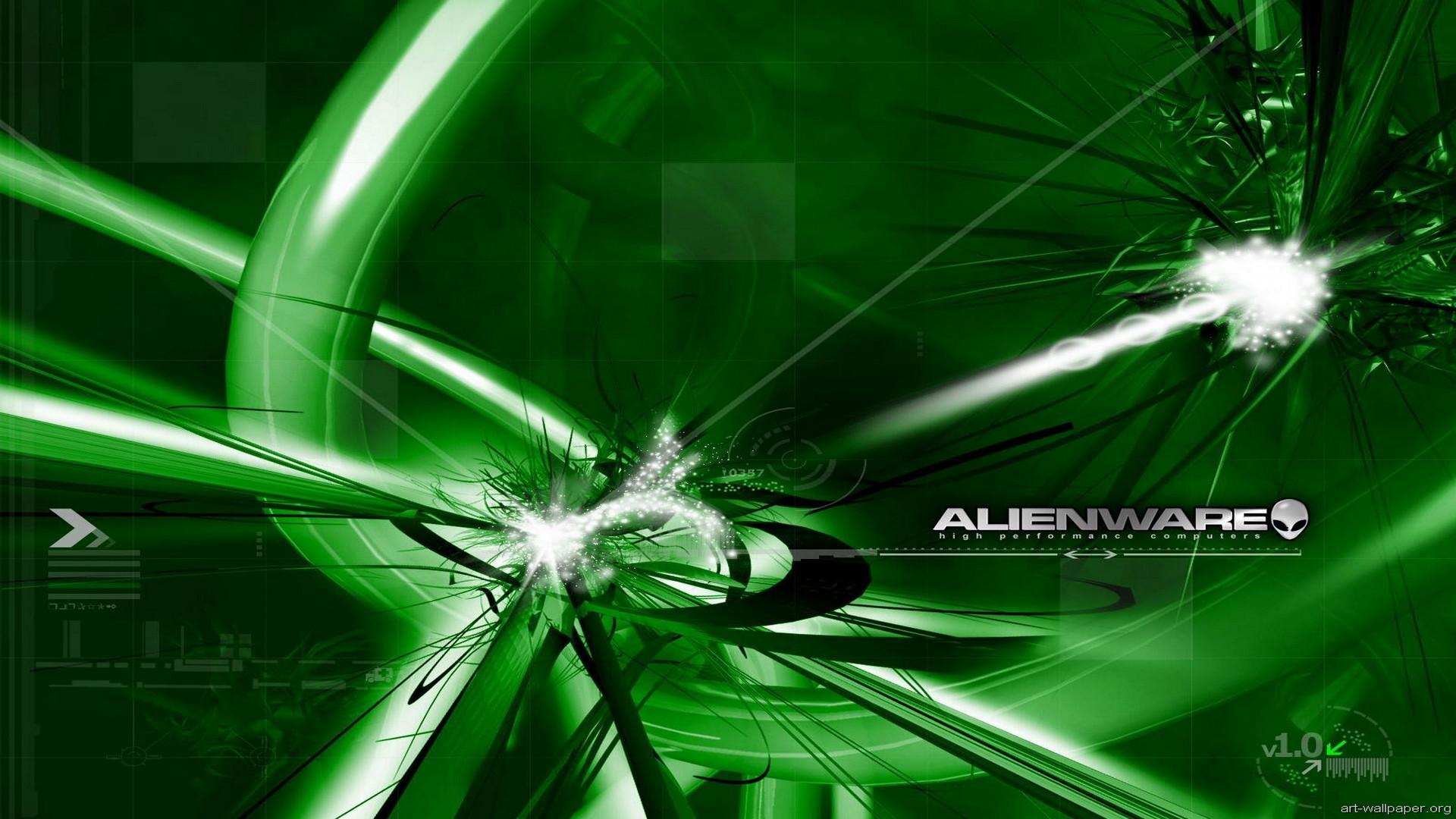 1920x1080 Green Alienware wallpaper 148913. Download · 1920x1080