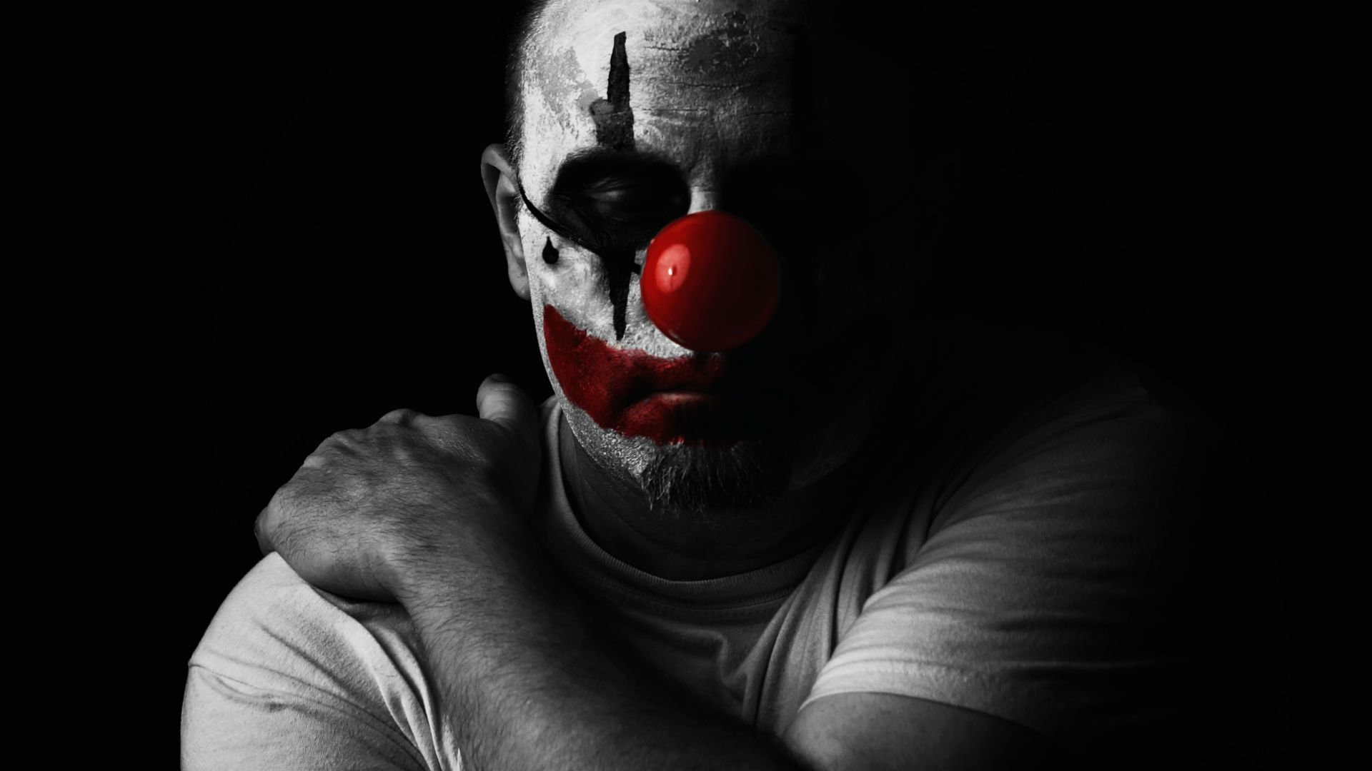 1920x1080 Pics For e Evil Clown Wallpapers Hd t you think were F