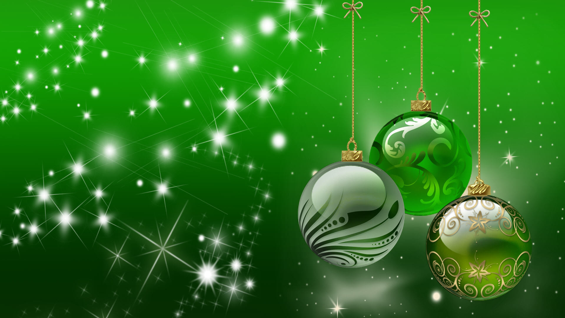 1920x1080 Green Holiday Backgrounds 18367