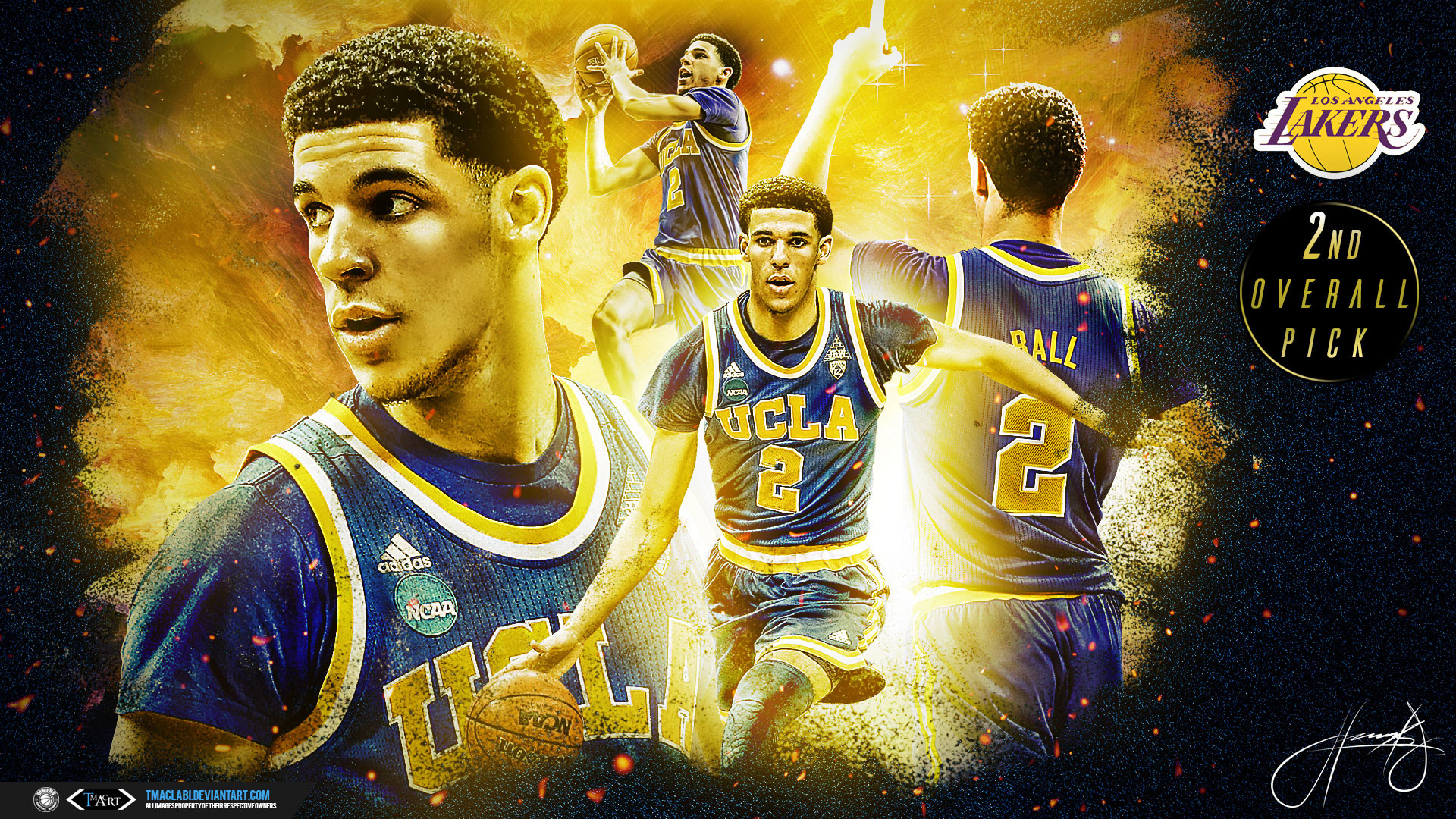 Lonzo Ball Hd Pictures >> Lonzo Ball Wallpapers (70+ images)