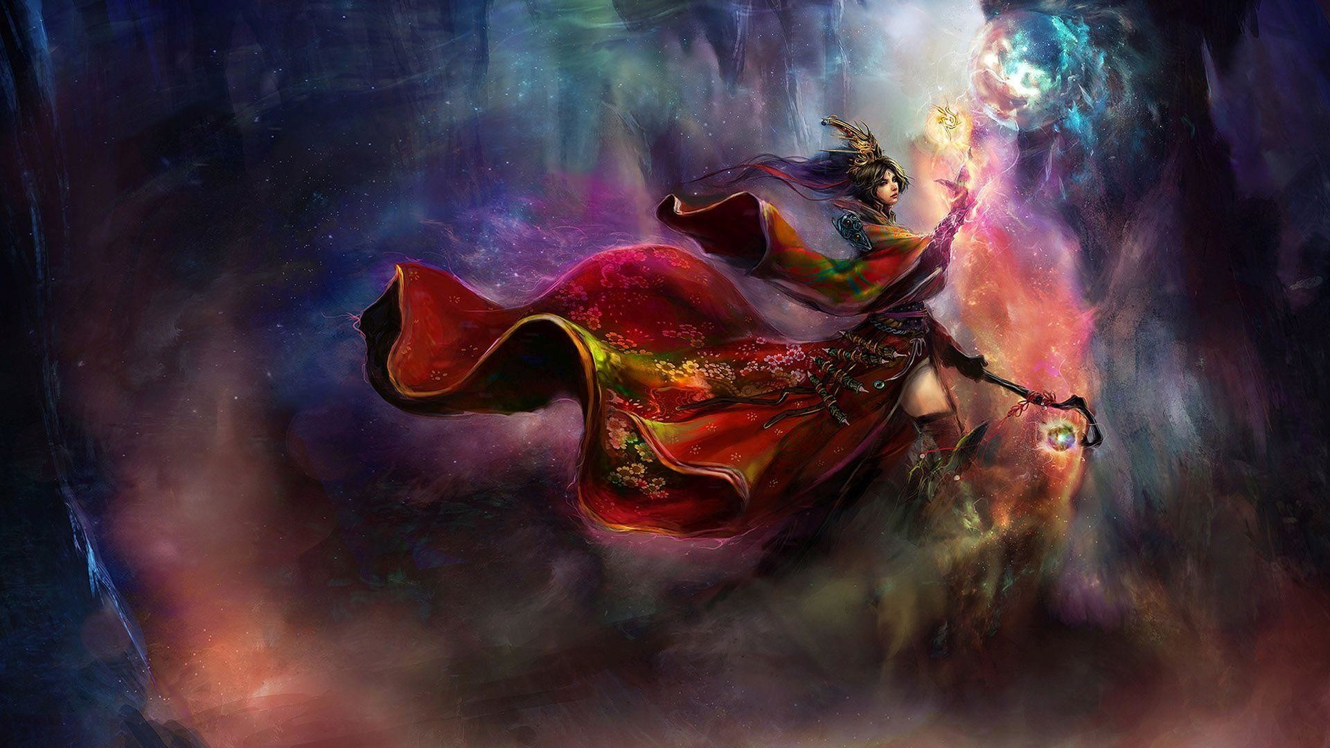 Fantasy Wizard Background 1 Hd Wallpapers: 1920x1080 HD Wallpaper Only (56+ Images