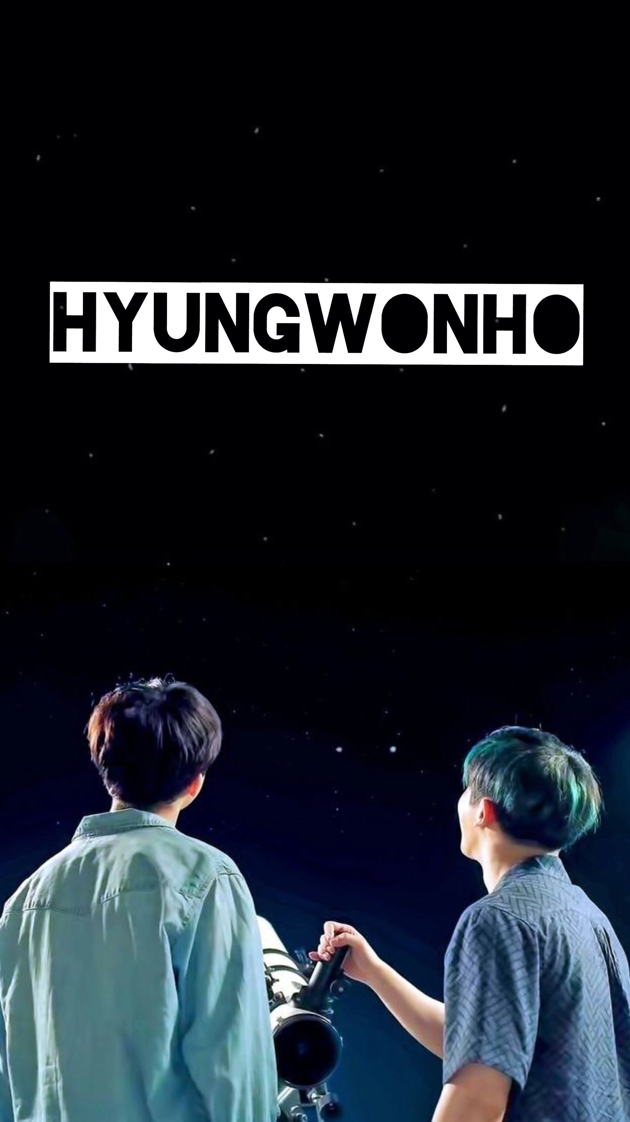 2048x3644 Monsta X || HyungWonho Wallpaper ❤ ♥️